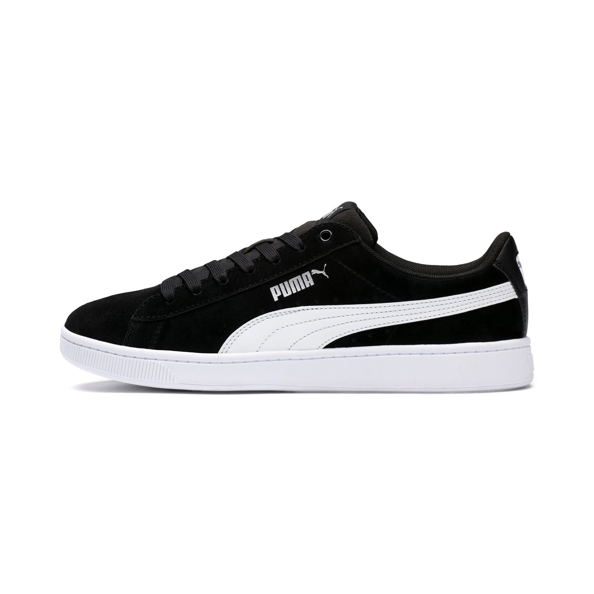 Thumbnail 1 of PUMA Vikky v2 Women's Sneakers, Puma Black-Puma White-Silver, medium