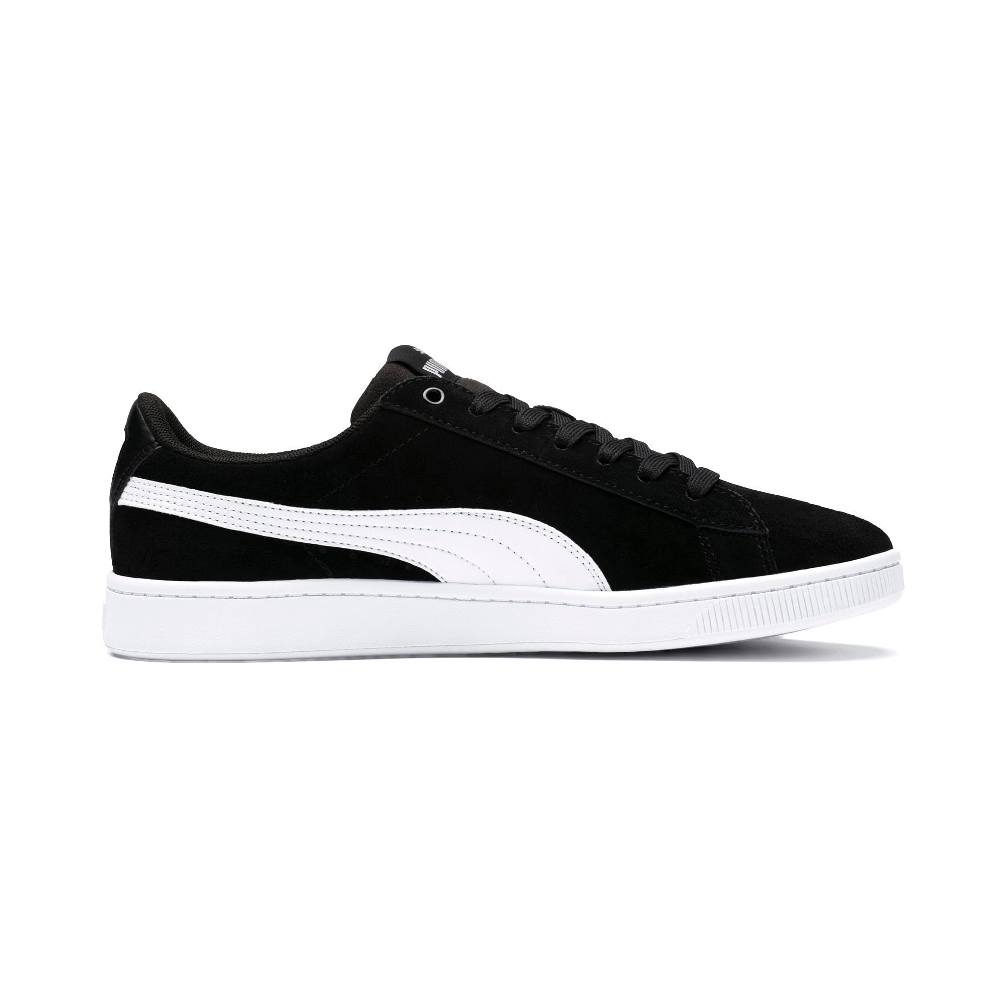 Thumbnail 5 of PUMA Vikky v2 Women's Sneakers, Puma Black-Puma White-Silver, medium