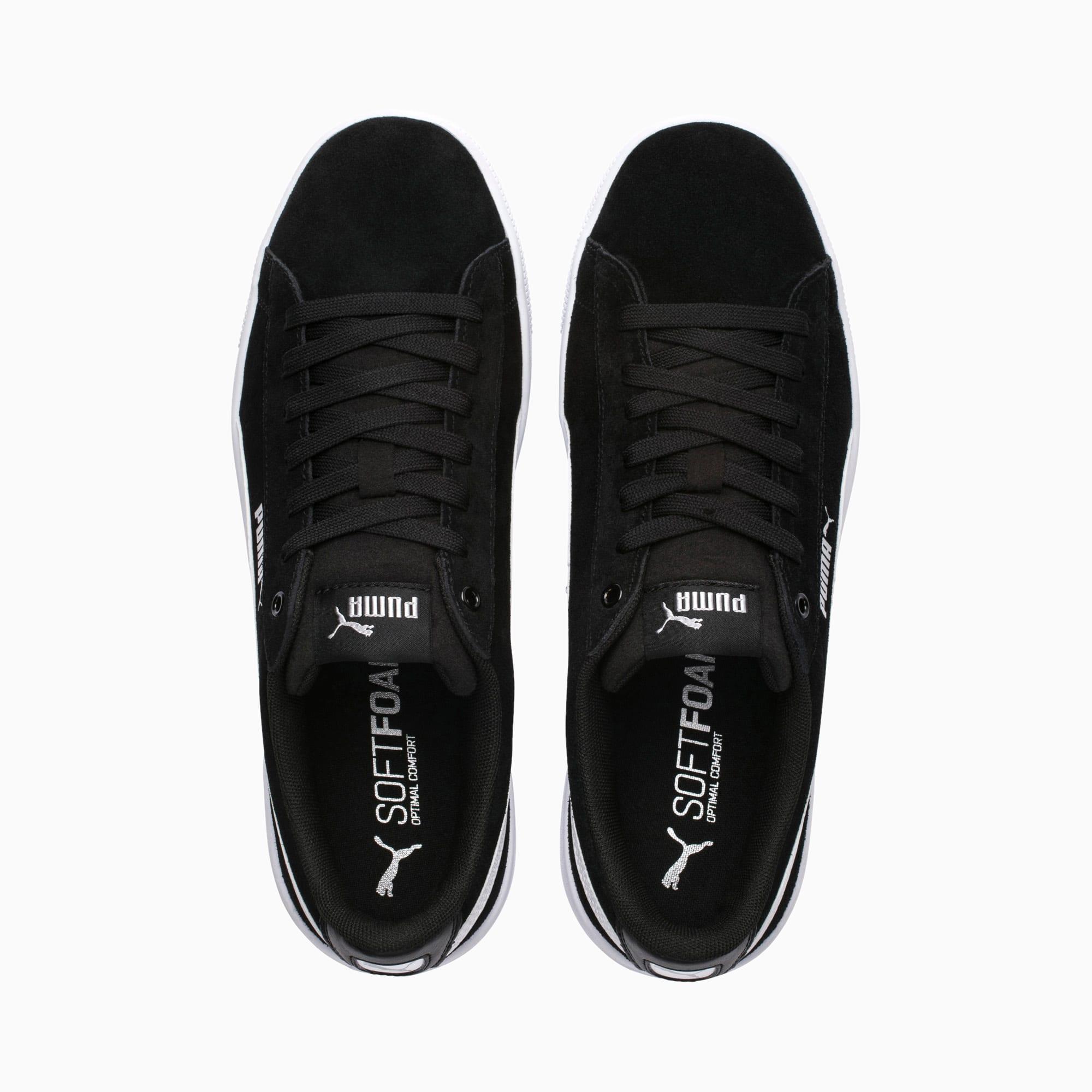 Vikky v2 Damen Sneaker | Puma Black Puma White Silver | PUMA