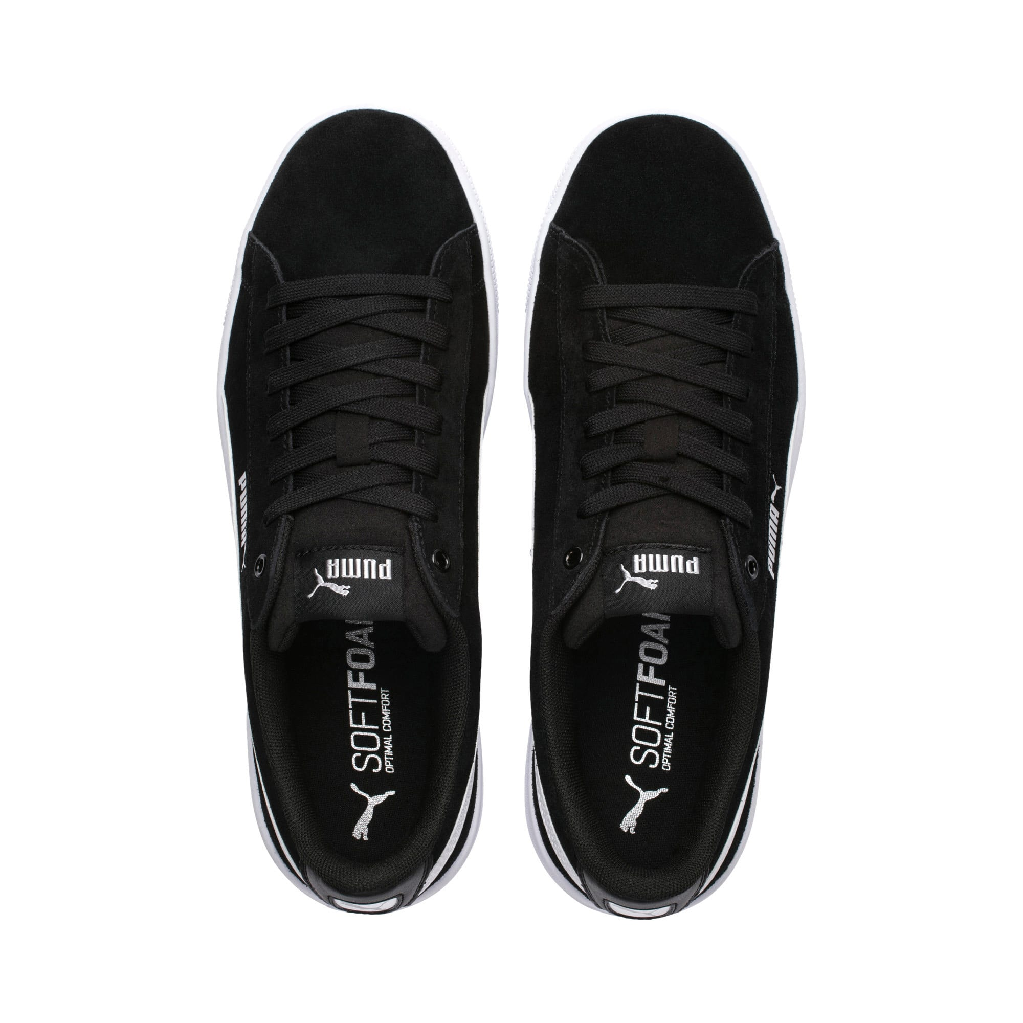 Thumbnail 6 of PUMA Vikky v2 Women's Sneakers, Puma Black-Puma White-Silver, medium