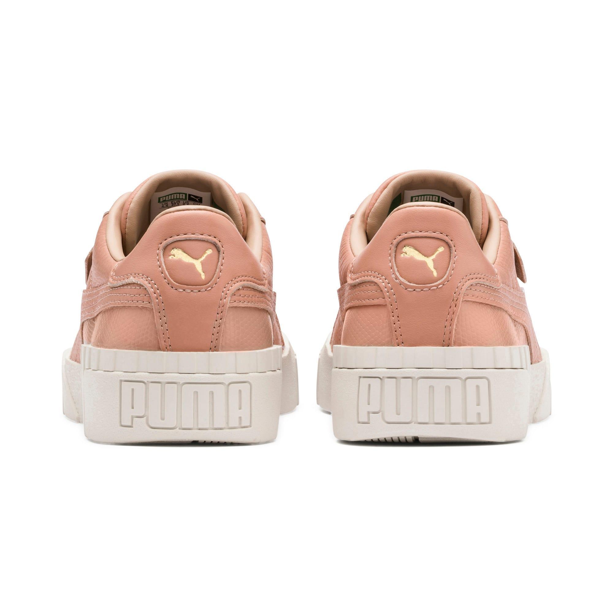 Thumbnail 4 of Cali Emboss sneakers voor dames, Nougat, medium