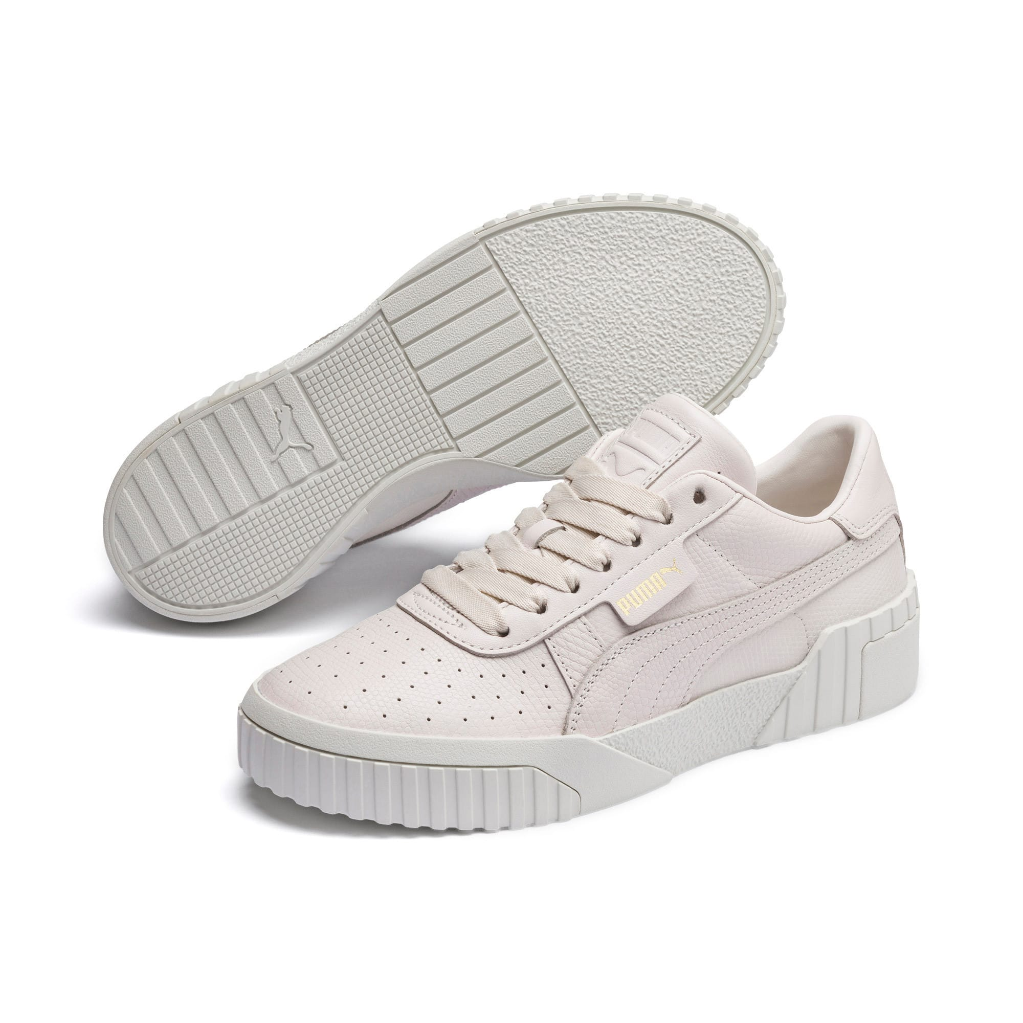 Thumbnail 3 of Cali Emboss sneakers voor dames, Pastel Parchment, medium