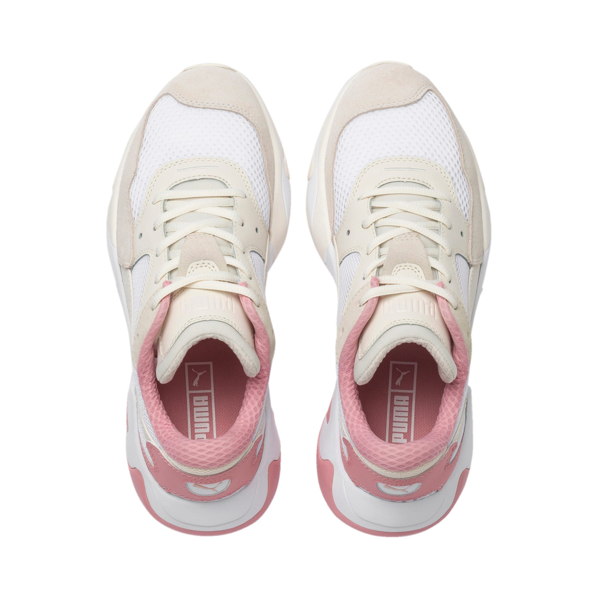 Thumbnail 7 of ストーム オリジン スニーカー, Pastel Parchment-Puma White, medium-JPN