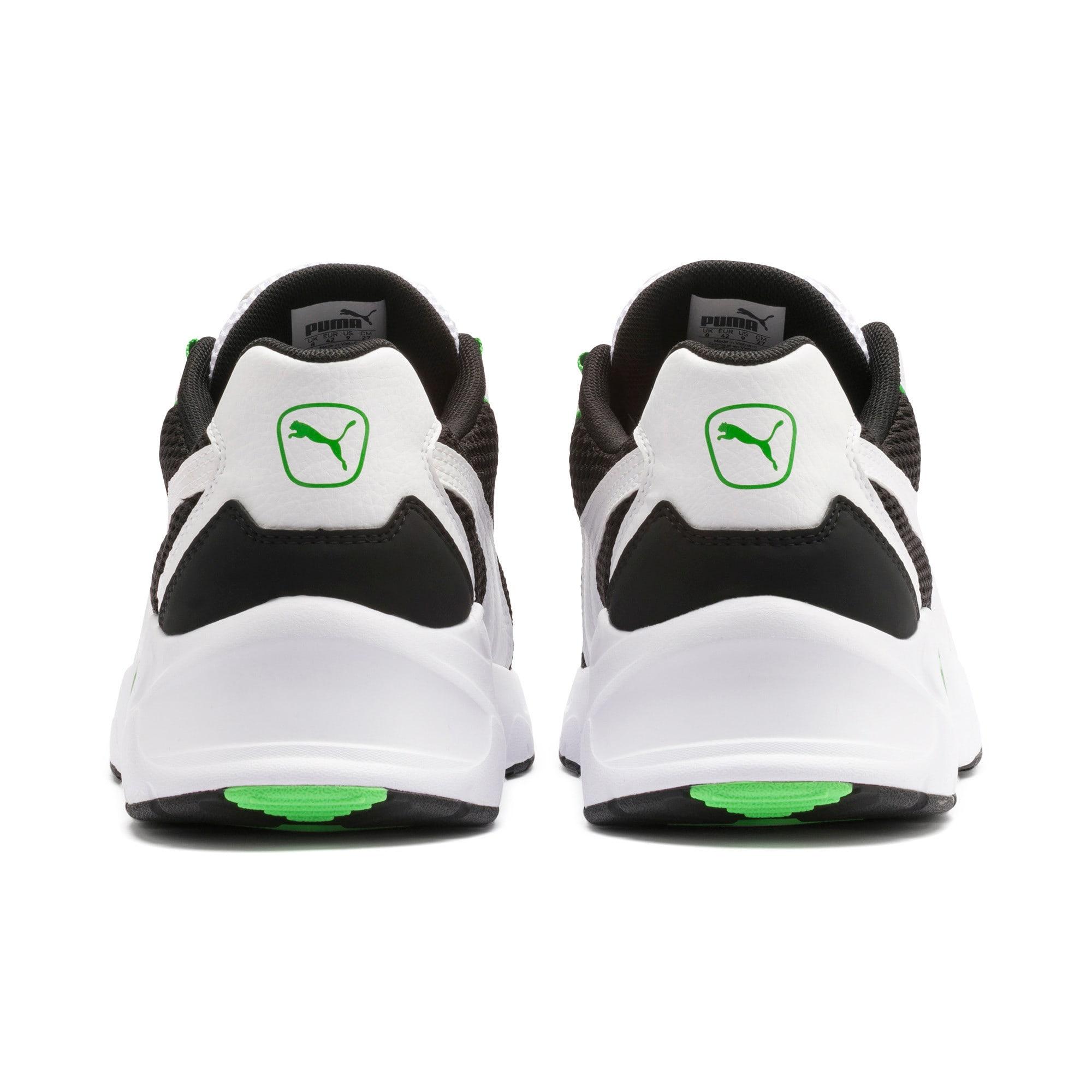 Imagen en miniatura 4 de Zapatillas de training Nucleus, Puma Black-Classic Green, mediana