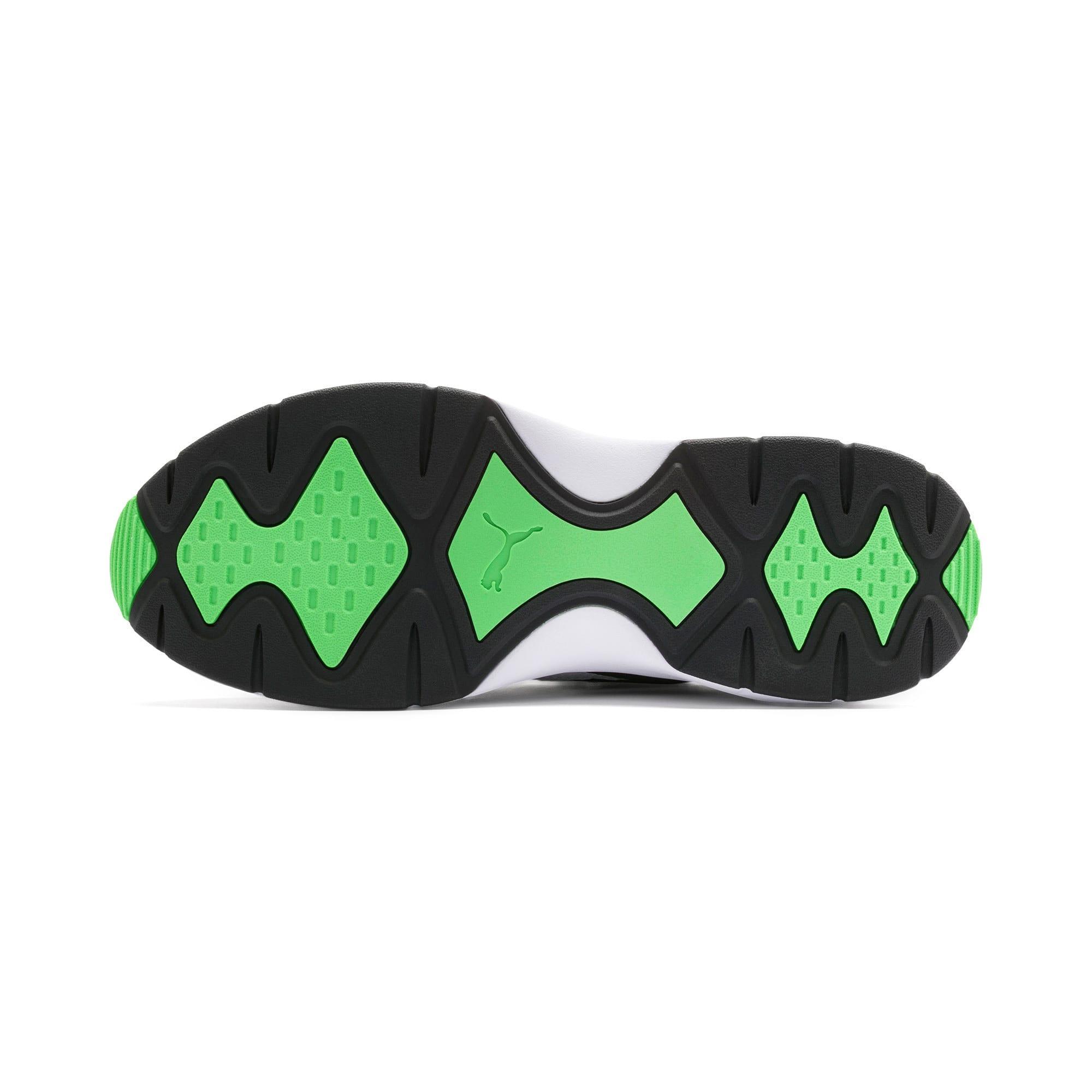 Imagen en miniatura 5 de Zapatillas de training Nucleus, Puma Black-Classic Green, mediana