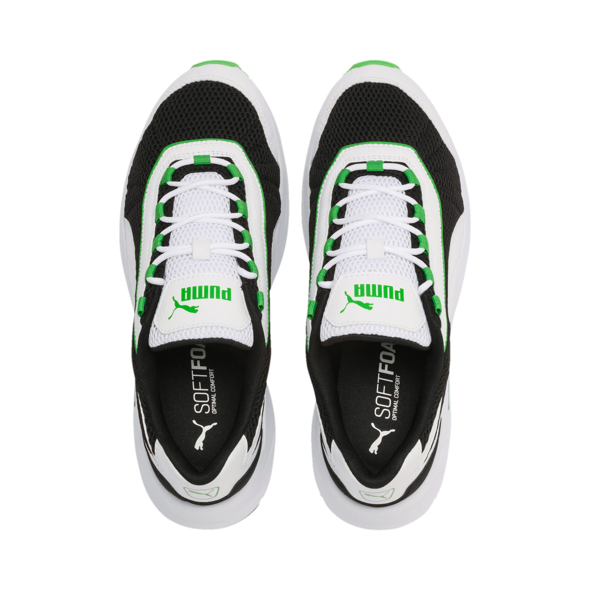 Imagen en miniatura 7 de Zapatillas de training Nucleus, Puma Black-Classic Green, mediana
