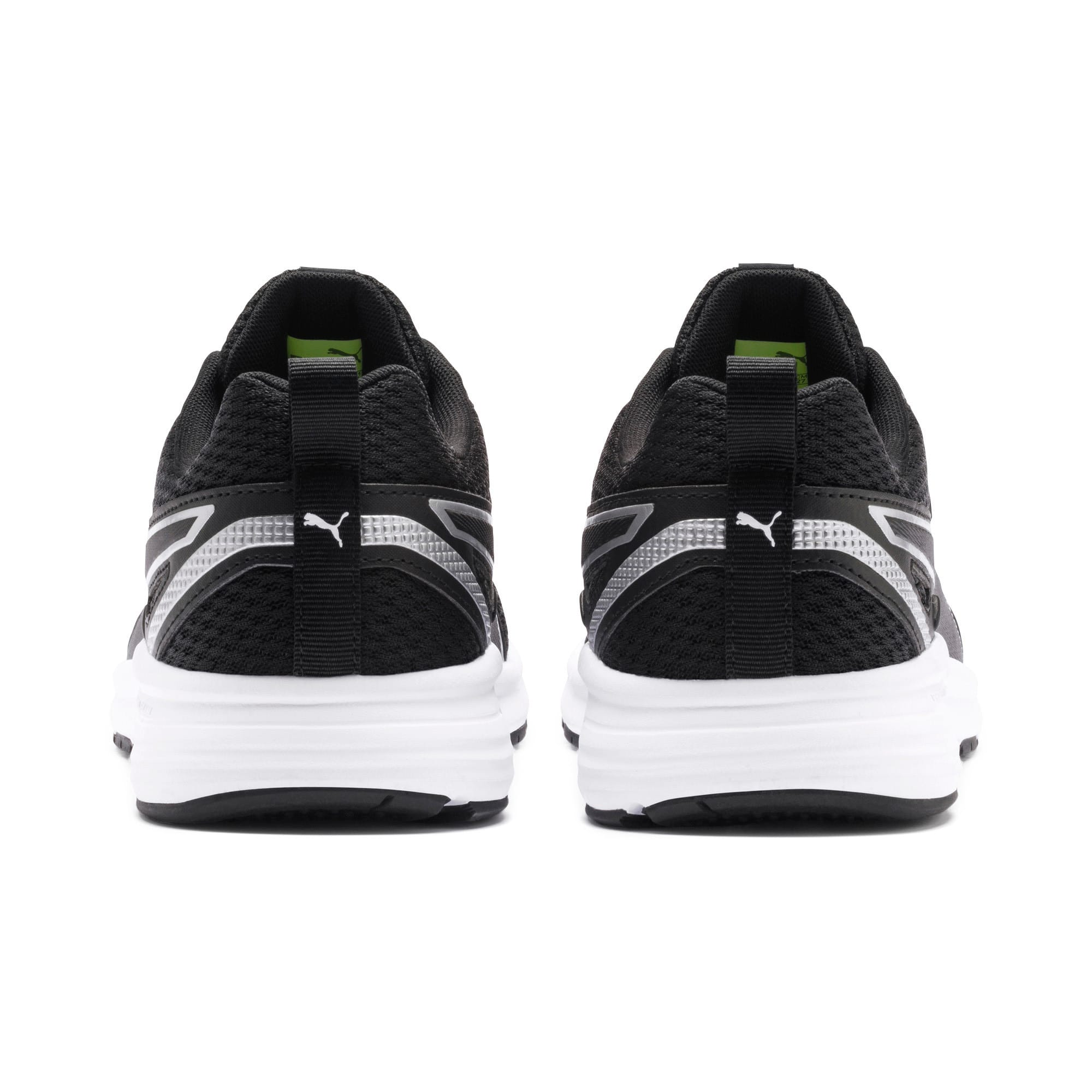 Thumbnail 5 of Pure Jogger Running Shoes, Black-Silver-White-Yellow, medium-IND