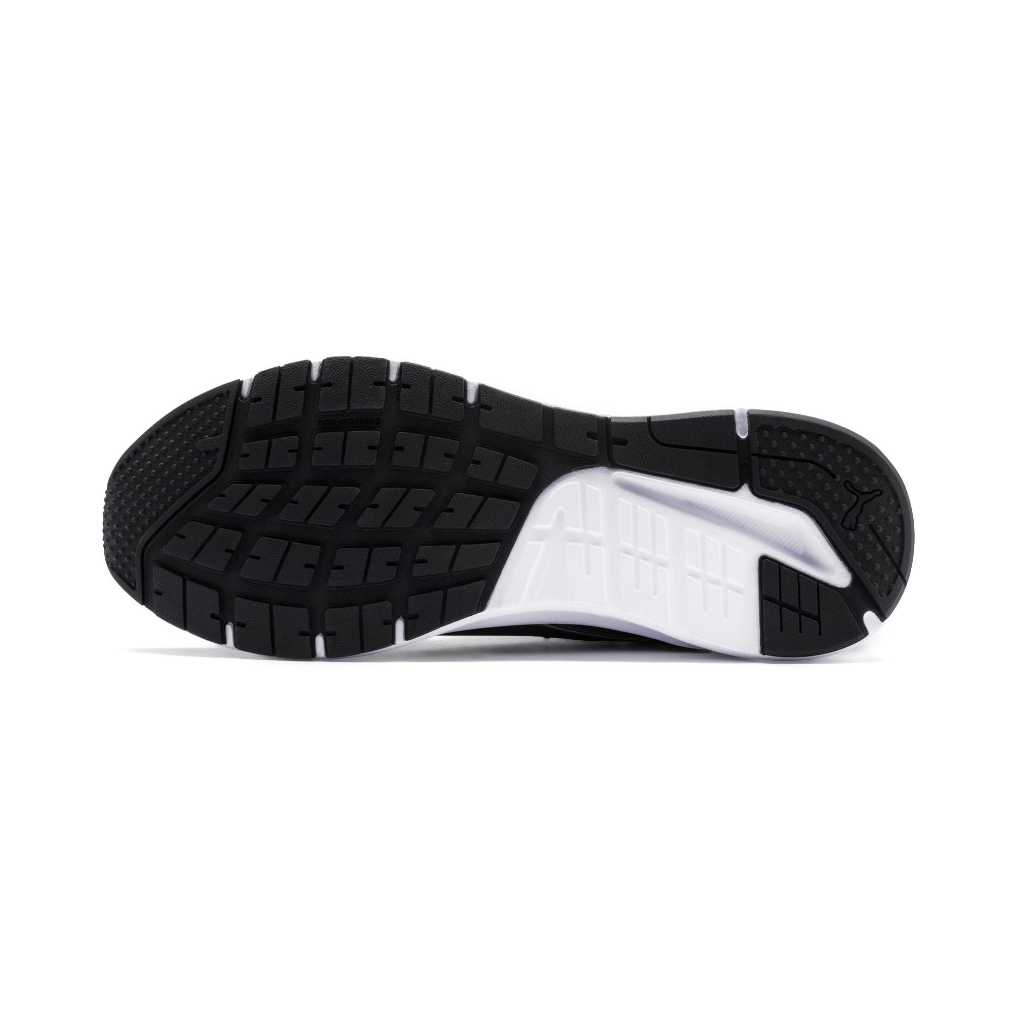 Thumbnail 6 of Pure Jogger Running Shoes, Black-Silver-White-Yellow, medium-IND
