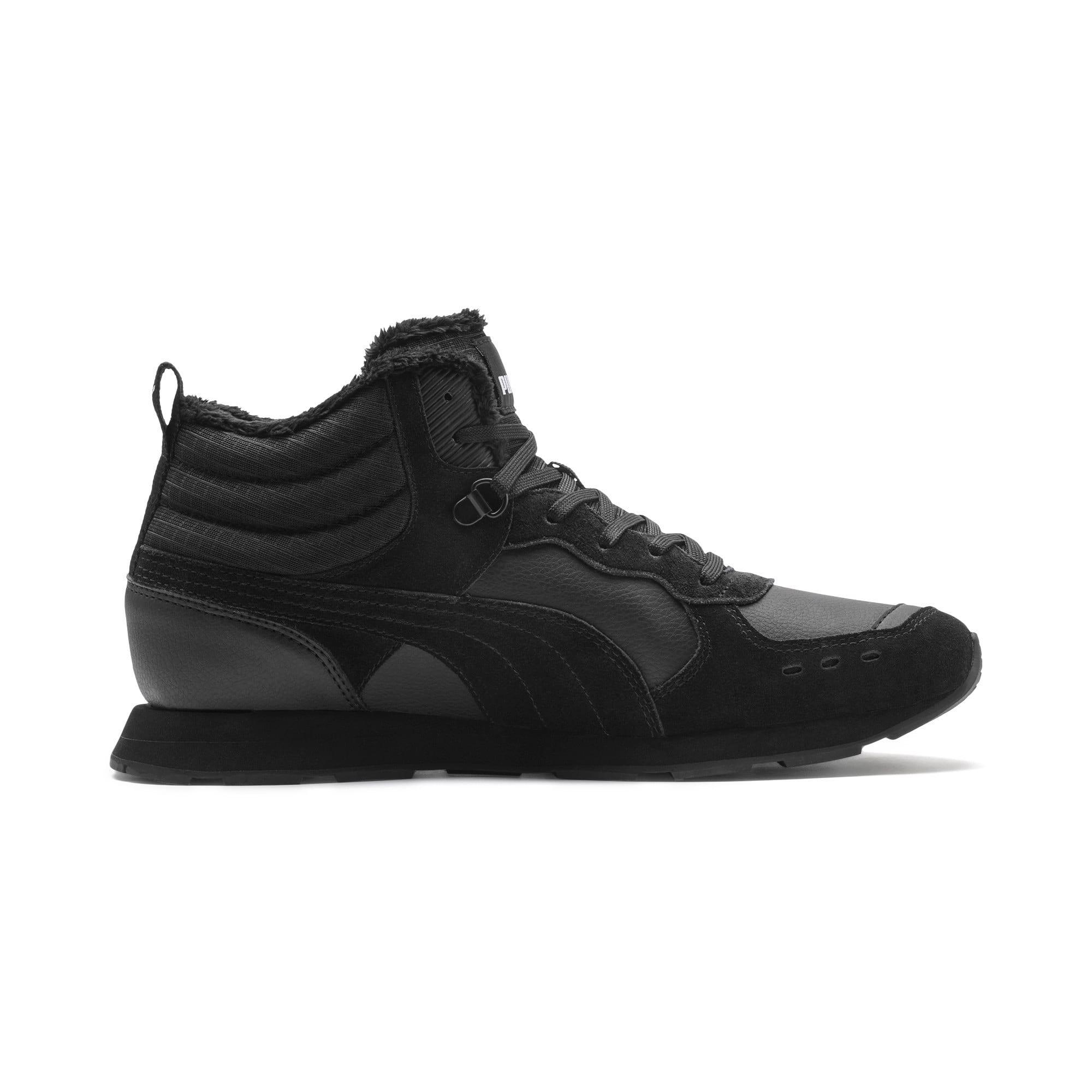 Anteprima 6 di Vista Mid-Cut Winter Running Shoes, Puma Black-Puma White, medio