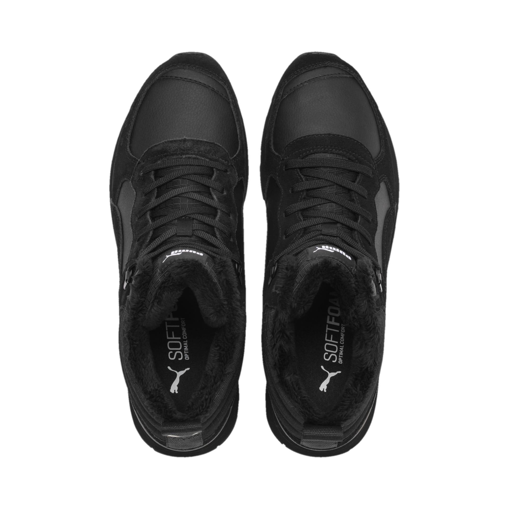 Anteprima 7 di Vista Mid-Cut Winter Running Shoes, Puma Black-Puma White, medio