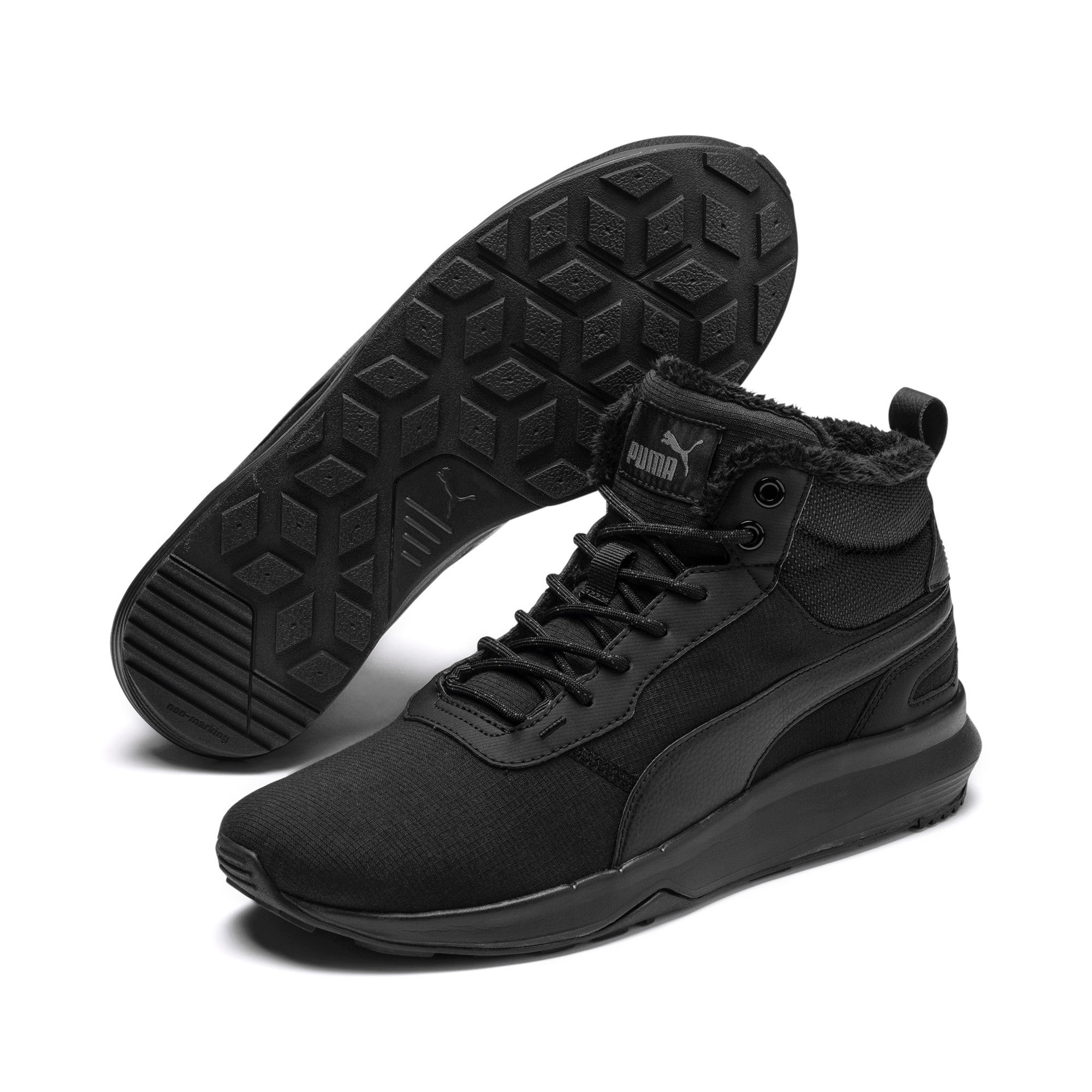 Thumbnail 3 of Activate Mid-Cut Boots, Puma Black-Puma Black, medium