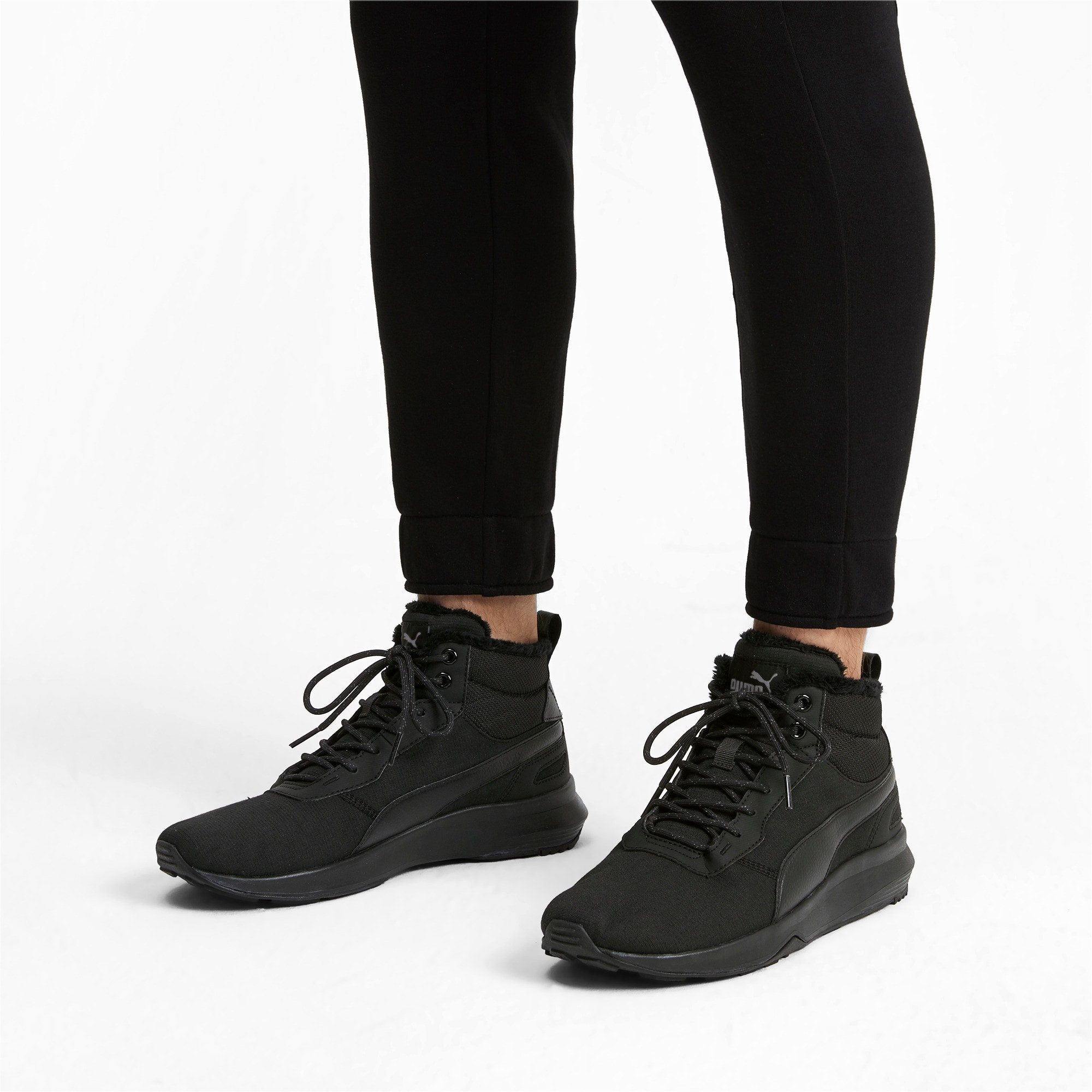 Thumbnail 2 of Activate Mid-Cut Boots, Puma Black-Puma Black, medium