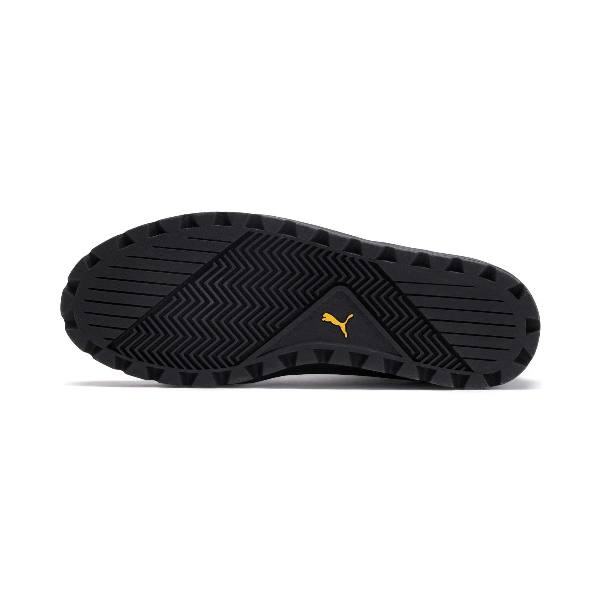 Thumbnail 5 of Capri Para Trainers, Puma Black-Puma Blk-Sulphur, medium