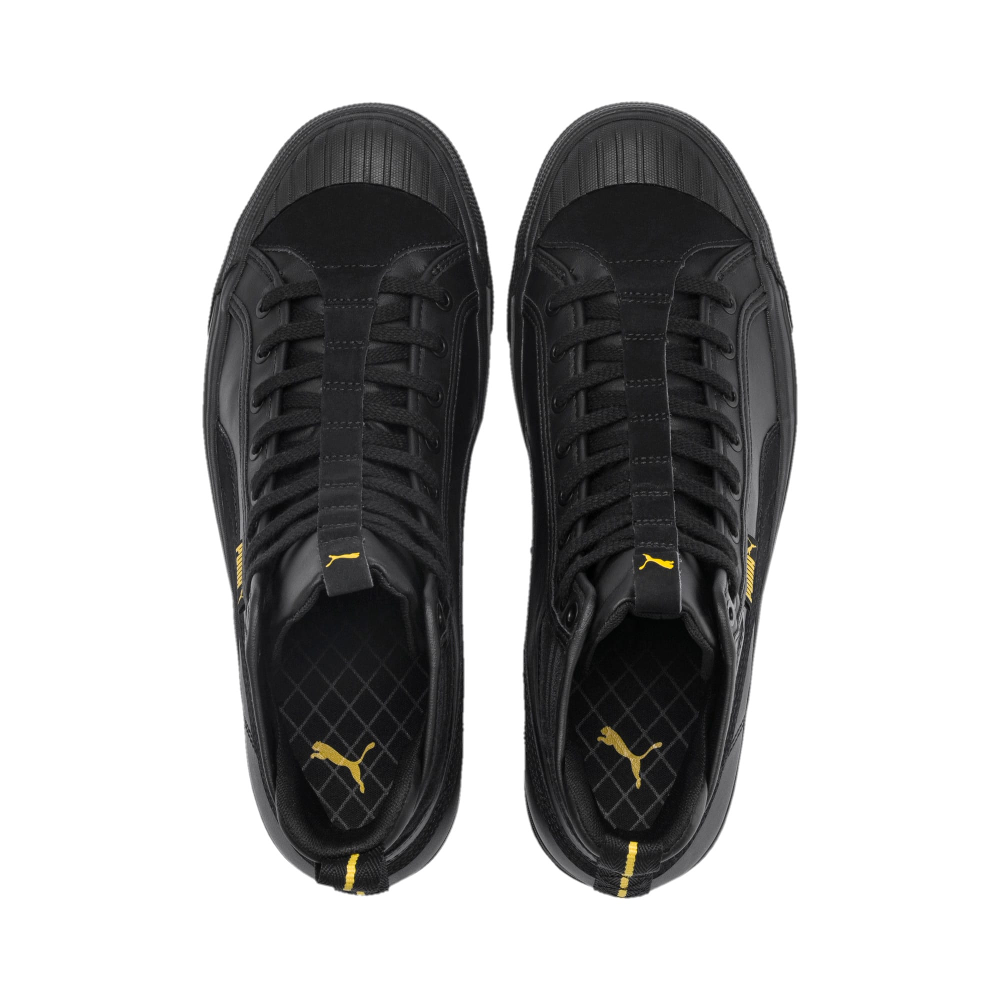 Thumbnail 7 of Capri Para Trainers, Puma Black-Puma Blk-Sulphur, medium