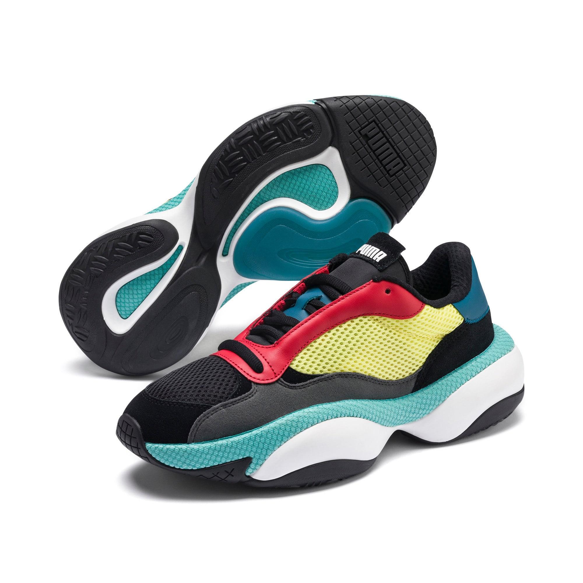 Thumbnail 2 of Alteration Kurve Sneakers, Puma Black-Limelight, medium