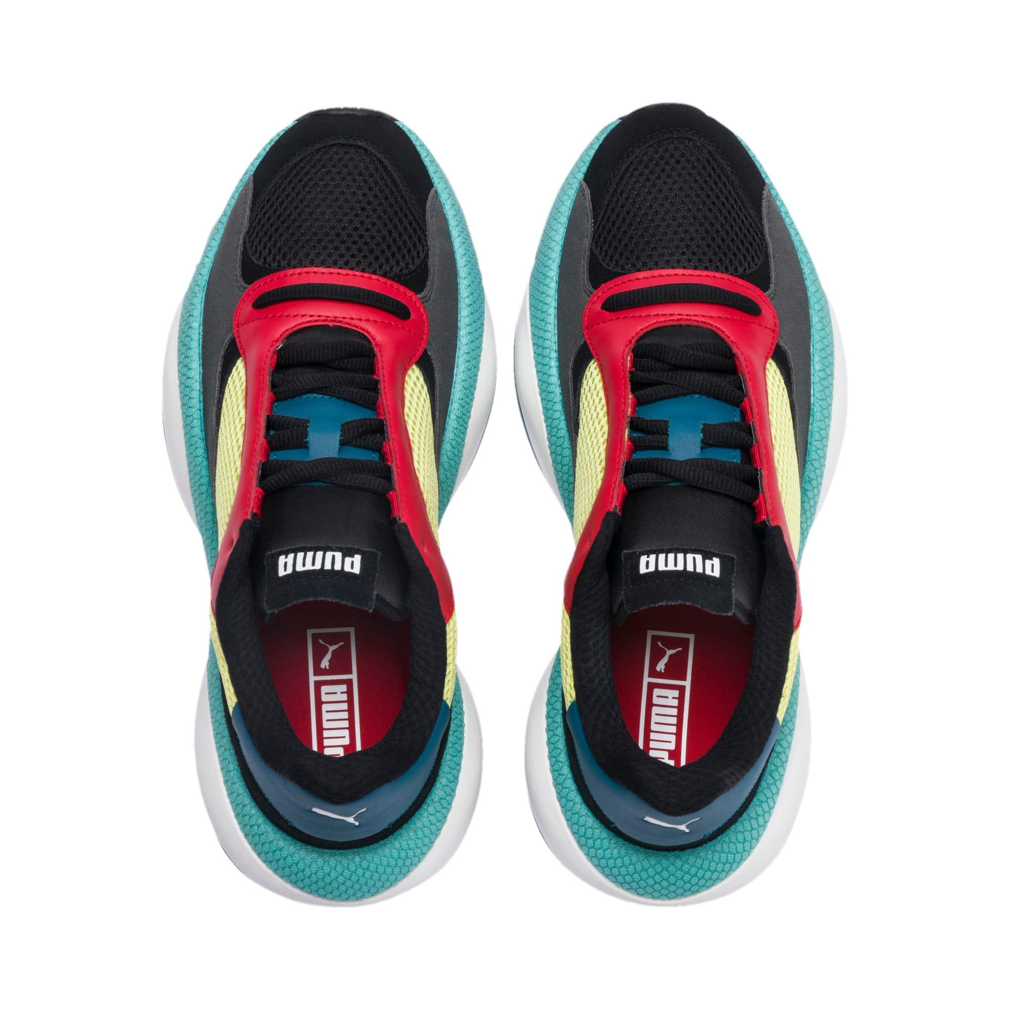 Thumbnail 6 of Alteration Kurve Sneakers, Puma Black-Limelight, medium