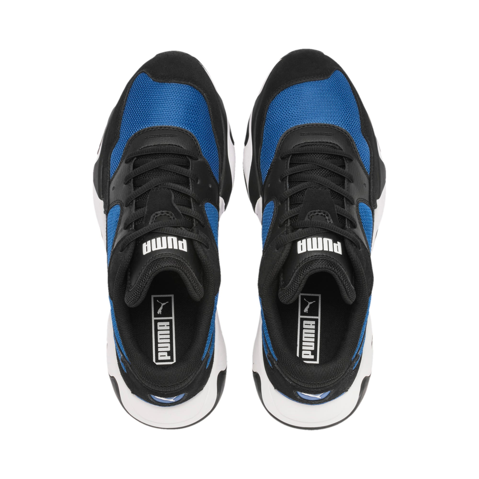 Thumbnail 9 of Storm Adrenaline Sneaker, Puma Black-Galaxy Blue, medium