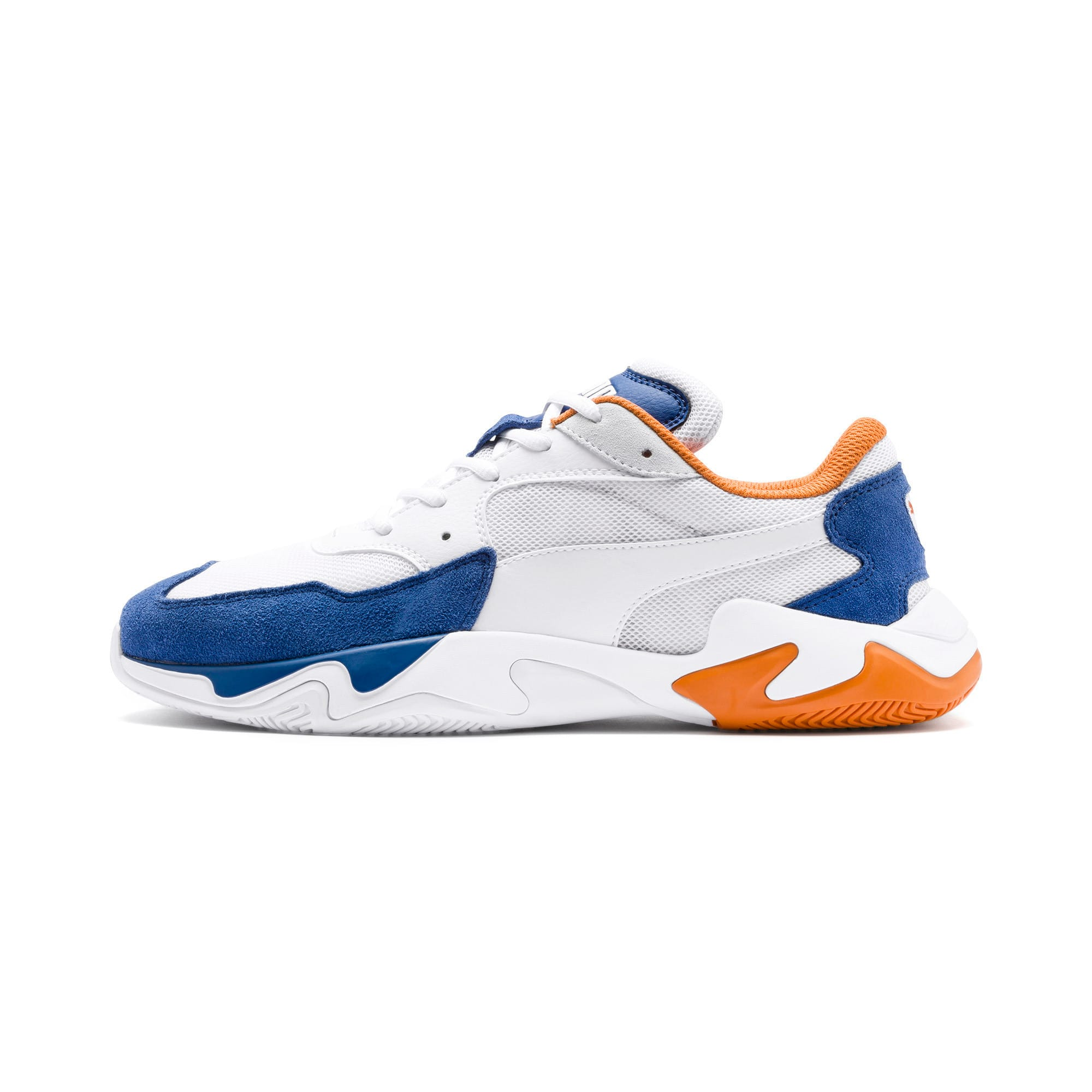 Thumbnail 1 of Storm Adrenaline Trainers, Galaxy Blue-Puma White, medium