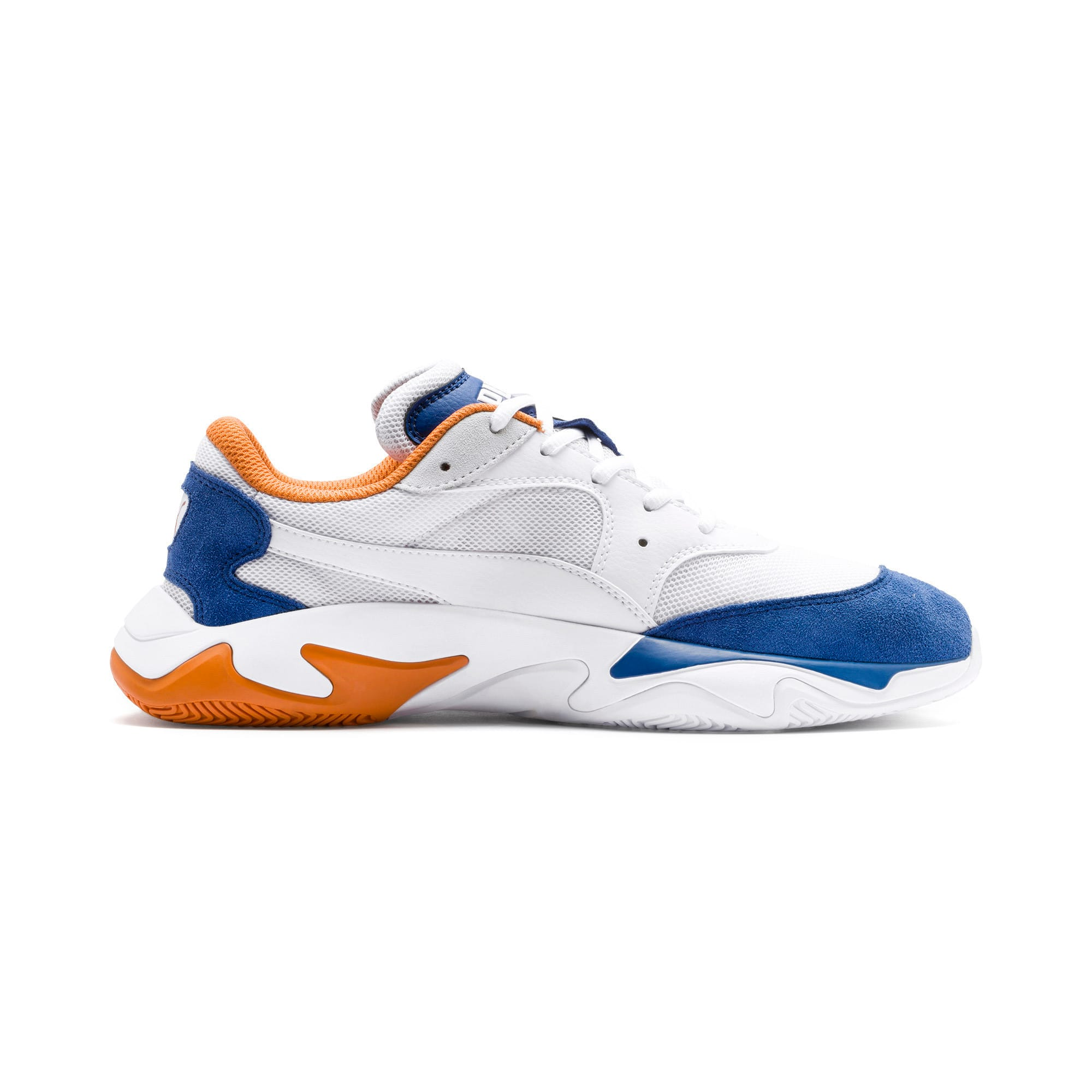 Thumbnail 8 of Storm Adrenaline Trainers, Galaxy Blue-Puma White, medium