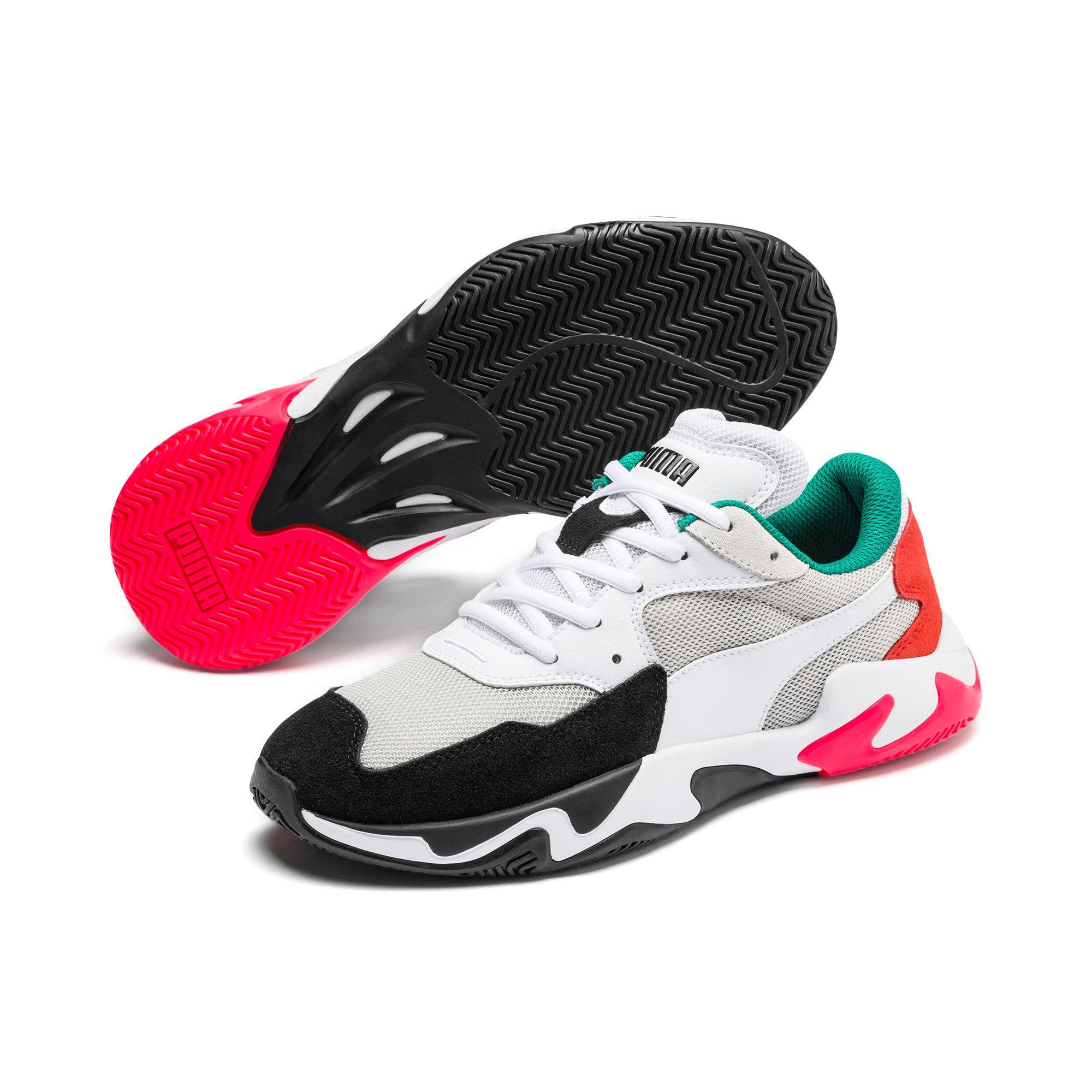 Thumbnail 3 of Storm Adrenaline Sneaker, Puma Black-Gray Violet, medium