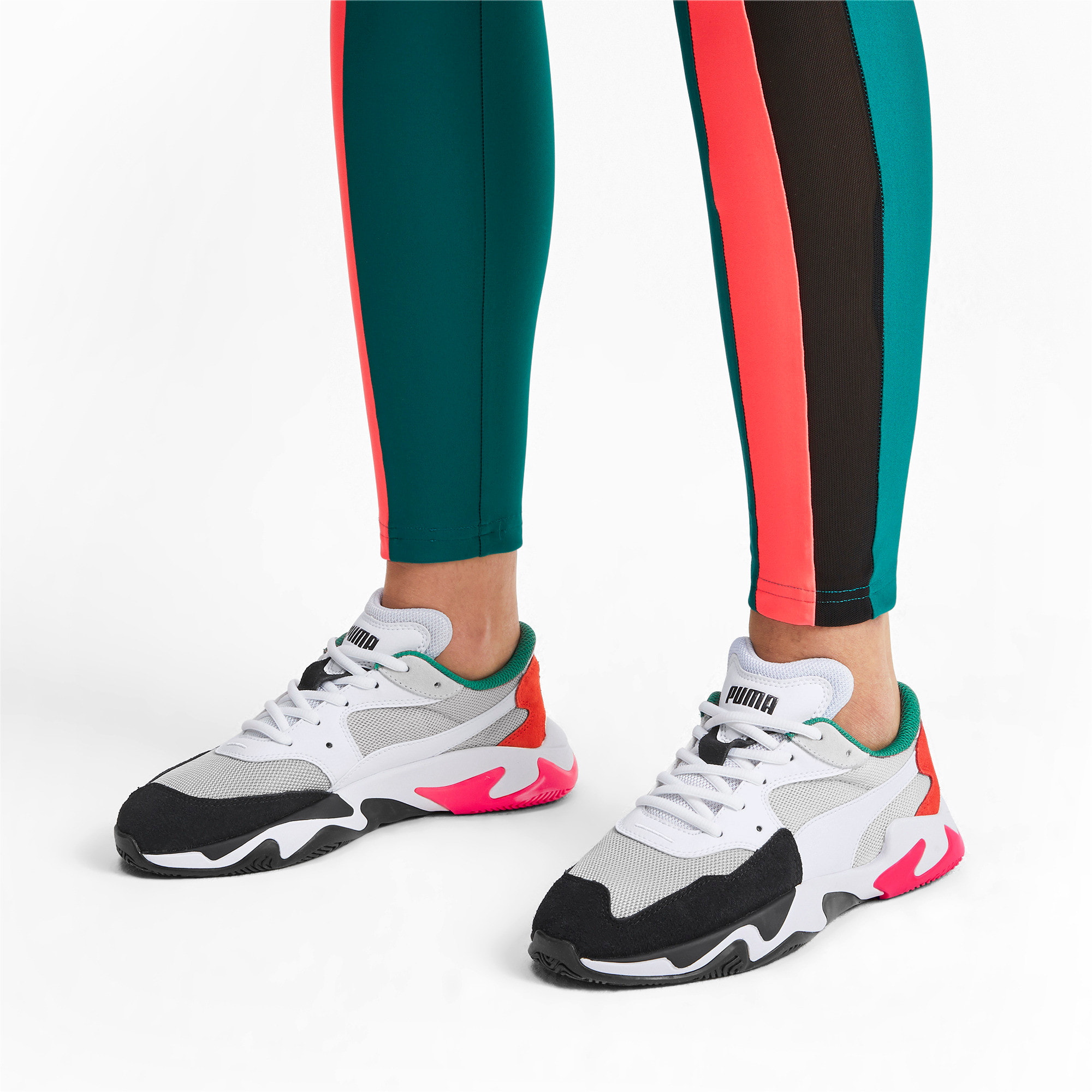 Thumbnail 2 of Storm Adrenaline Sneaker, Puma Black-Gray Violet, medium