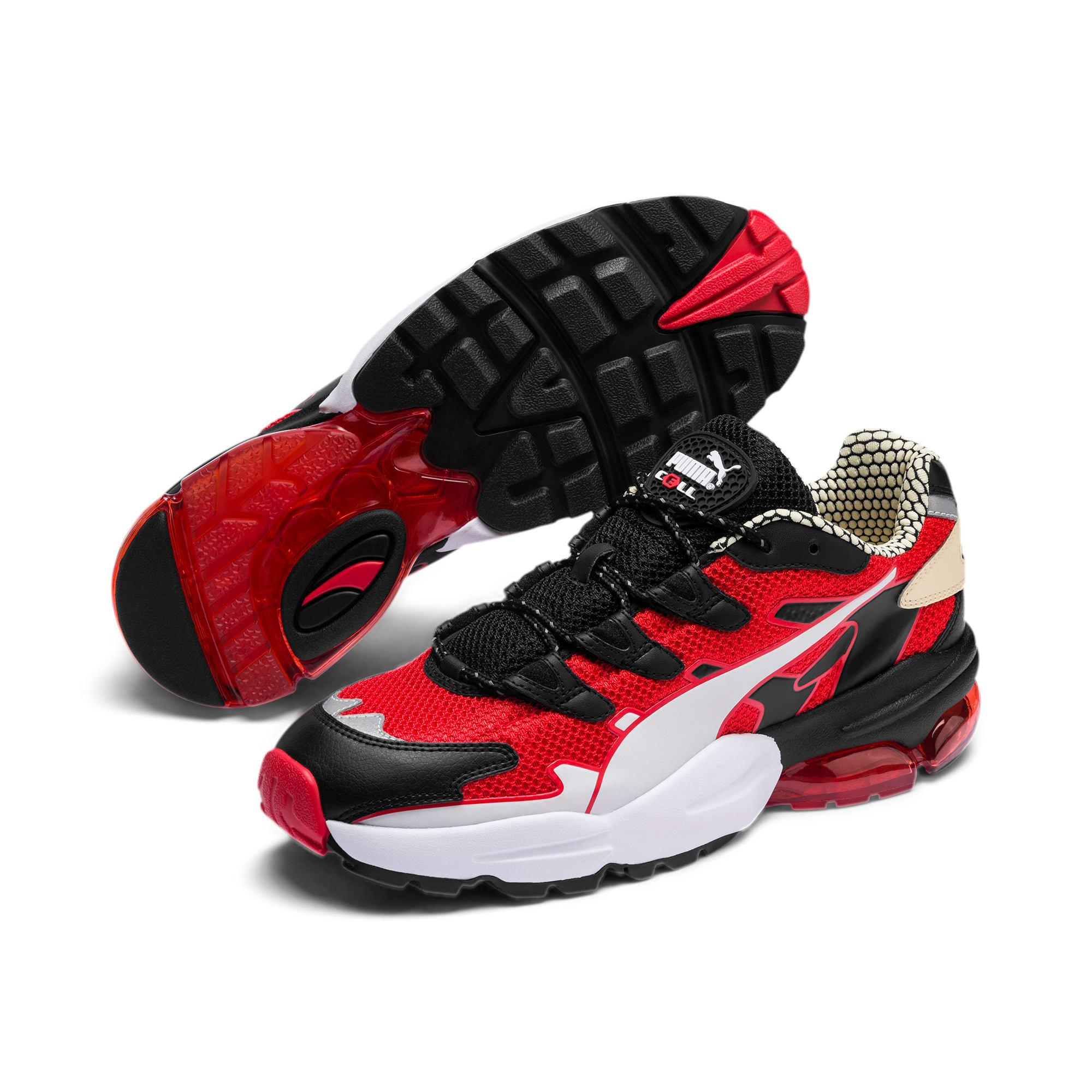 Thumbnail 3 of CELL Alien Kotto Sneakers, High Risk Red-Puma Black, medium