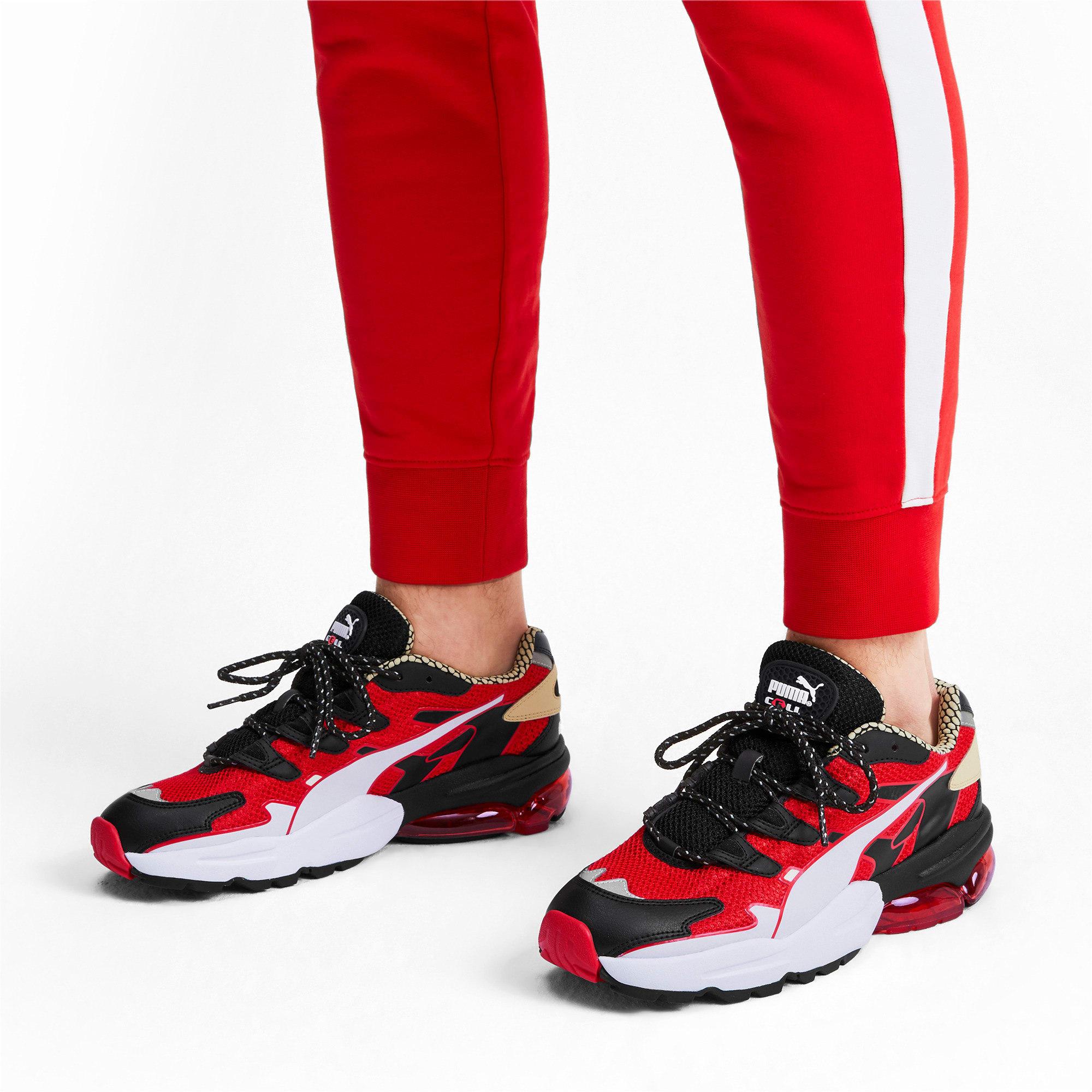 Thumbnail 2 of CELL Alien Kotto Sneakers, High Risk Red-Puma Black, medium