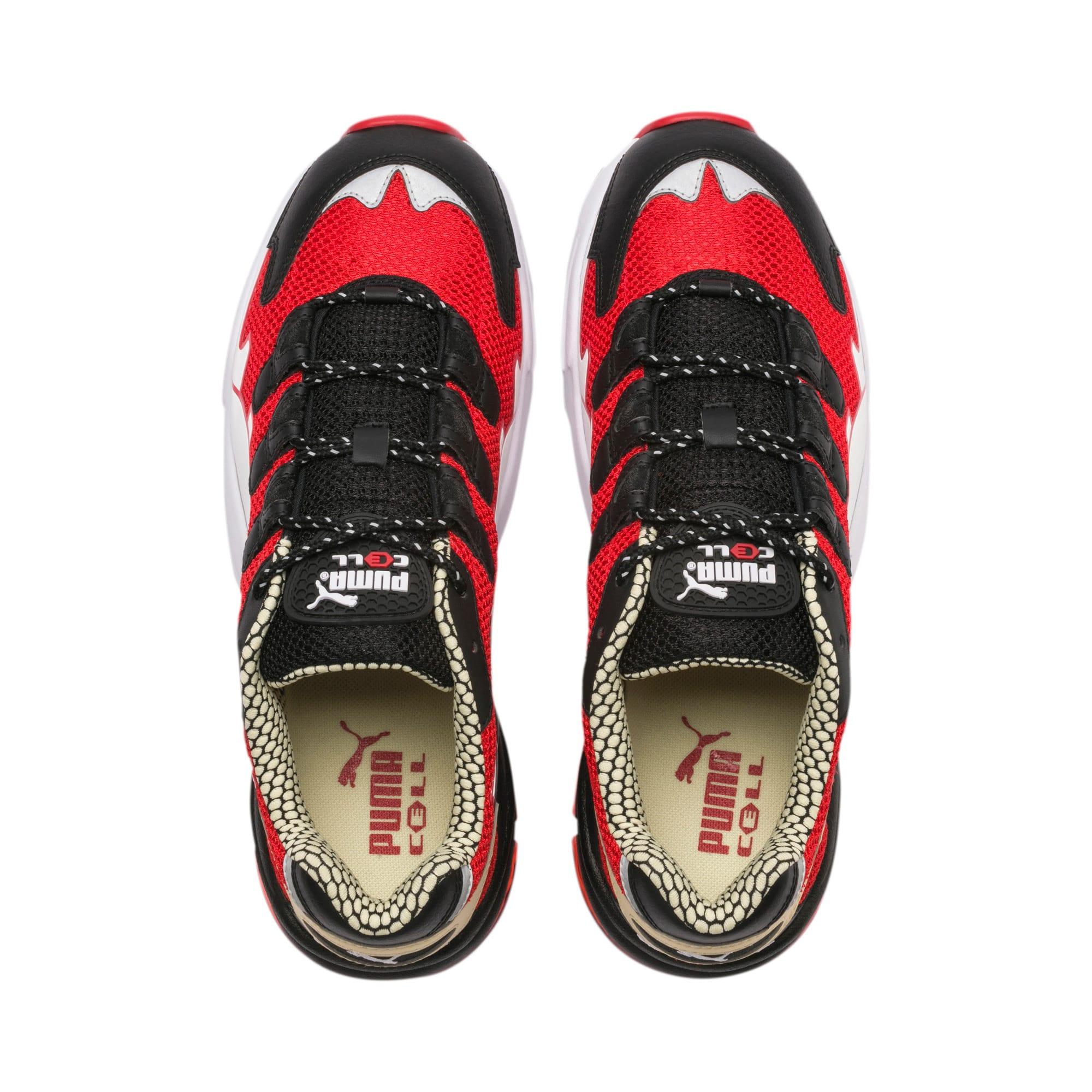 Thumbnail 7 of CELL Alien Kotto Sneakers, High Risk Red-Puma Black, medium