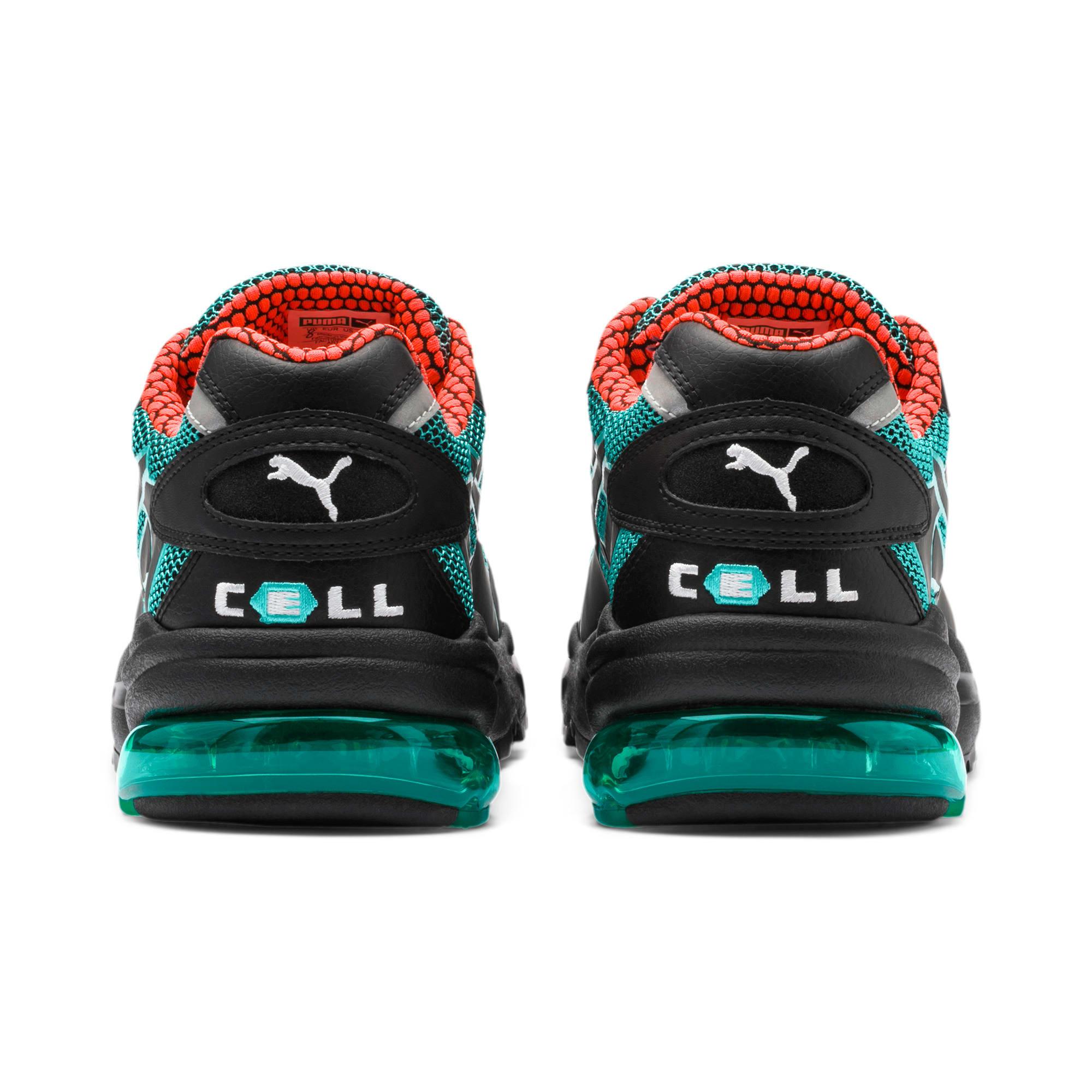 Thumbnail 4 of CELL Alien Kotto Sneakers, Puma Black-Blue Turquoise, medium