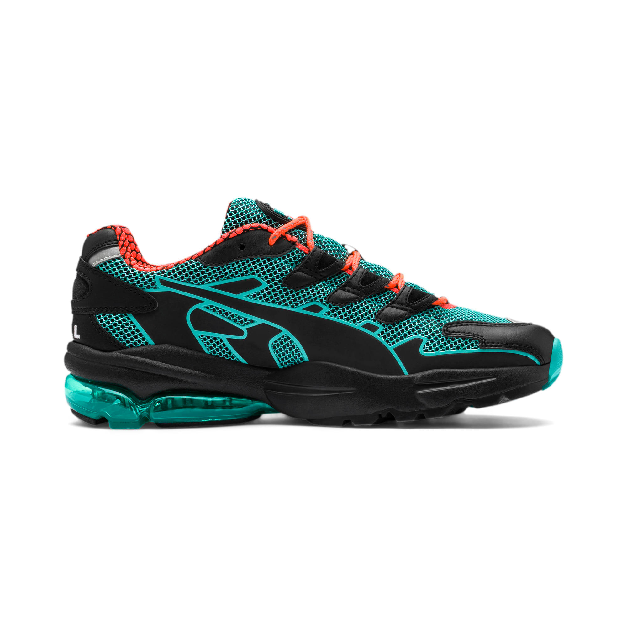 Thumbnail 6 of CELL Alien Kotto Trainers, Puma Black-Blue Turquoise, medium