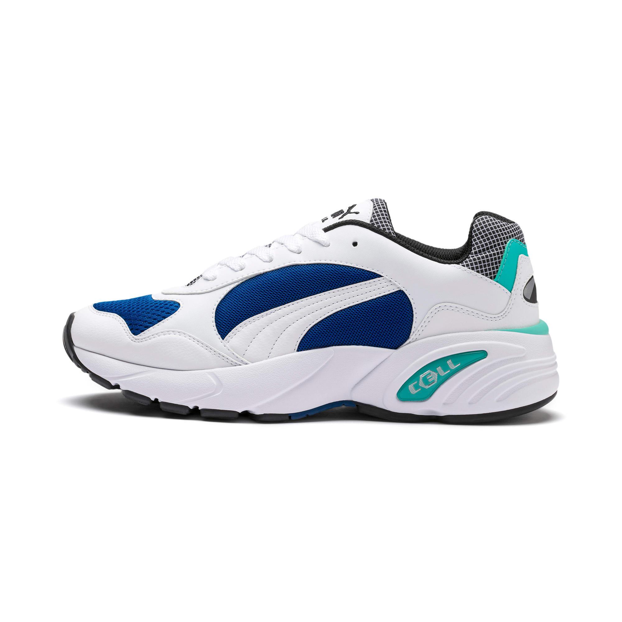 Thumbnail 1 van CELL Viper Street Racer sportschoenen, Puma White-Galaxy Blue, medium
