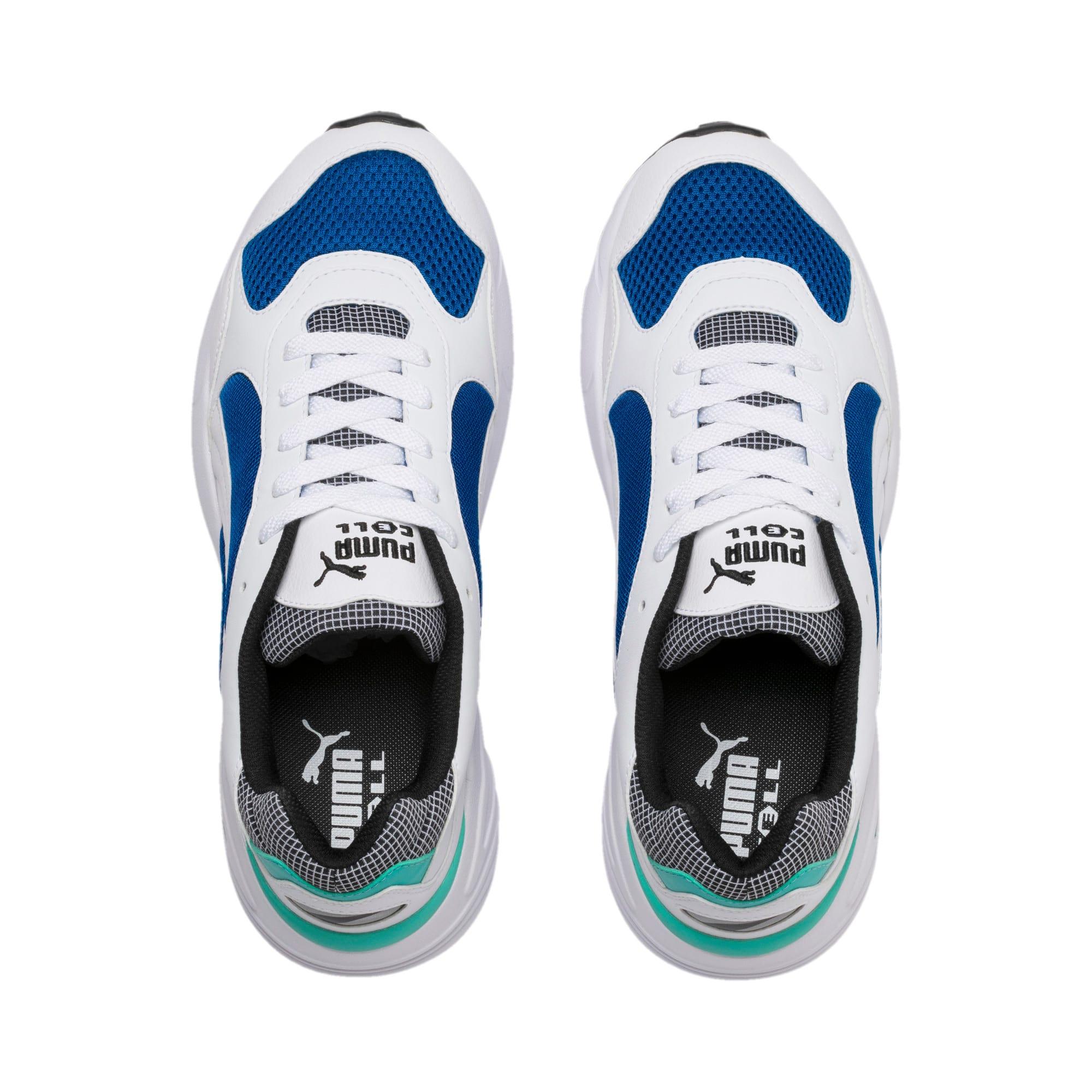 Thumbnail 7 van CELL Viper Street Racer sportschoenen, Puma White-Galaxy Blue, medium