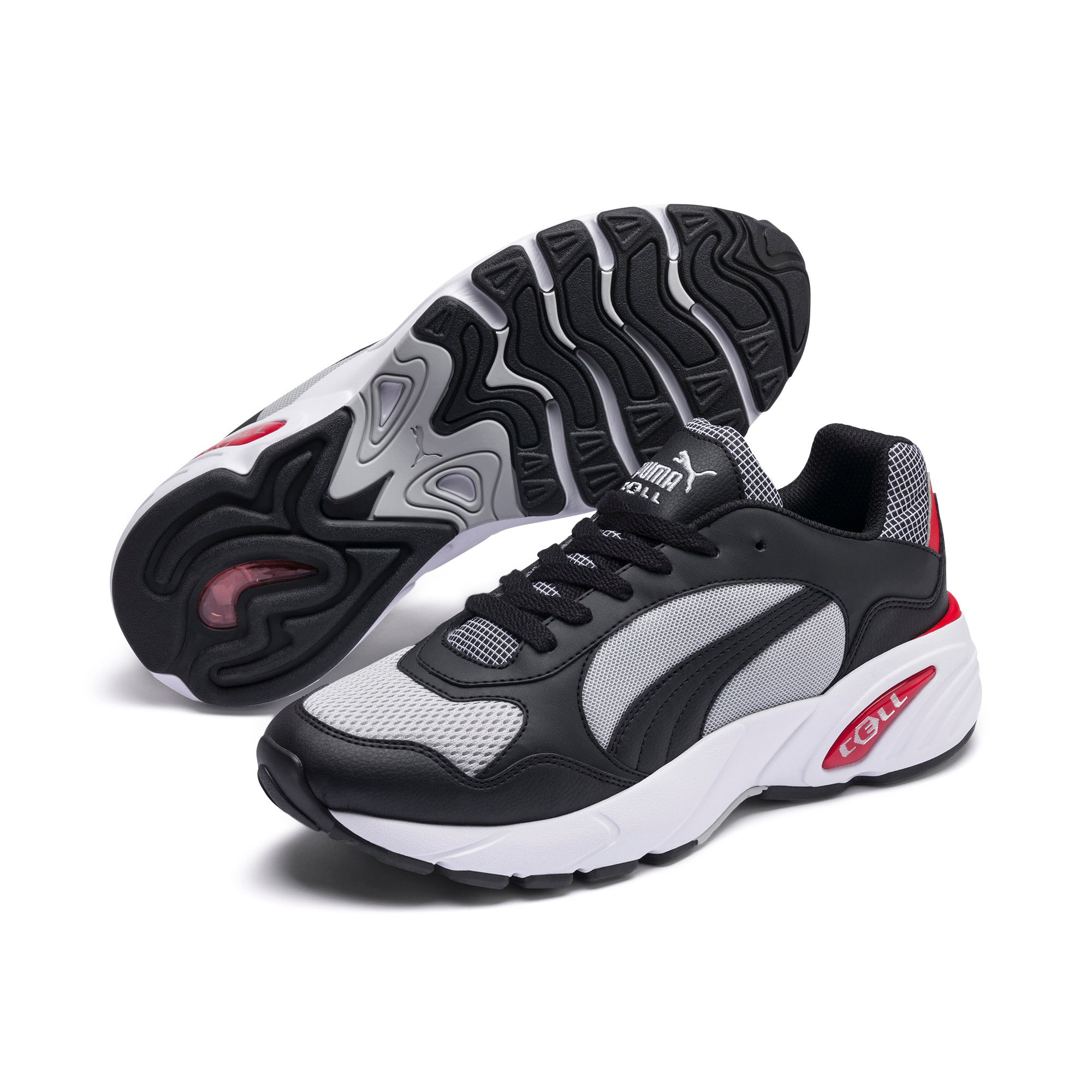 Thumbnail 3 of CELL Viper Street Racer Trainers, High Rise-Puma Black, medium
