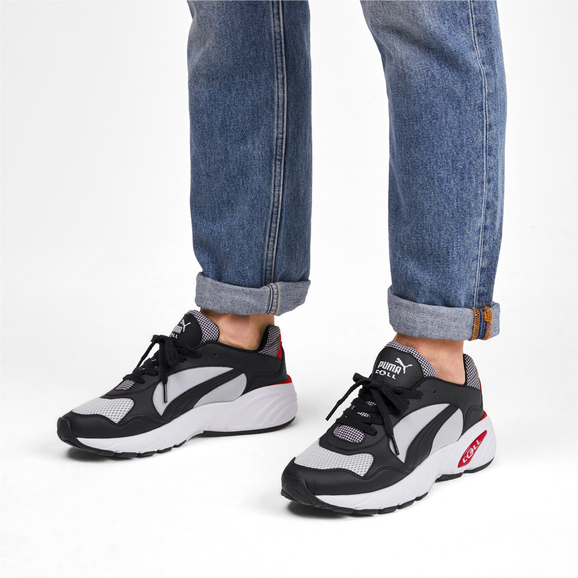 Thumbnail 3 of CELL Viper Street Racer Trainers, High Rise-Puma Black, medium-IND