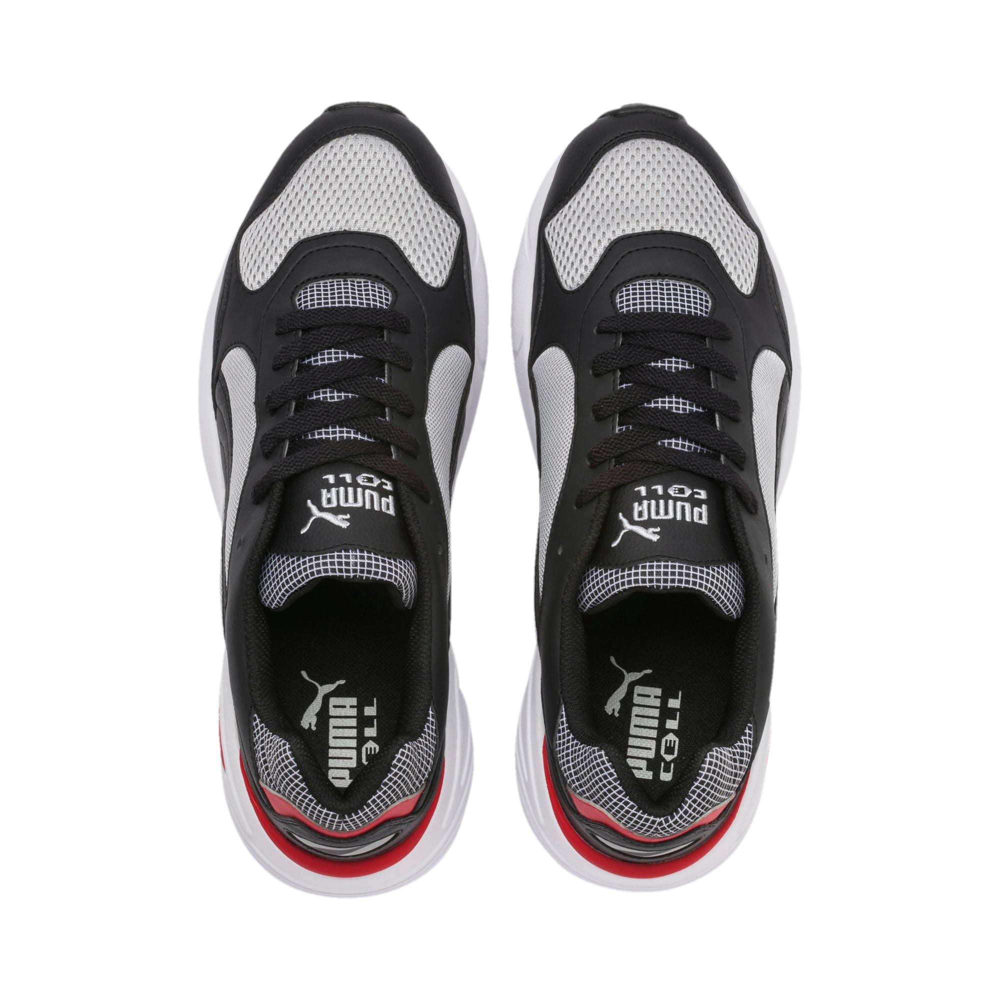 Thumbnail 7 of CELL Viper Street Racer Trainers, High Rise-Puma Black, medium