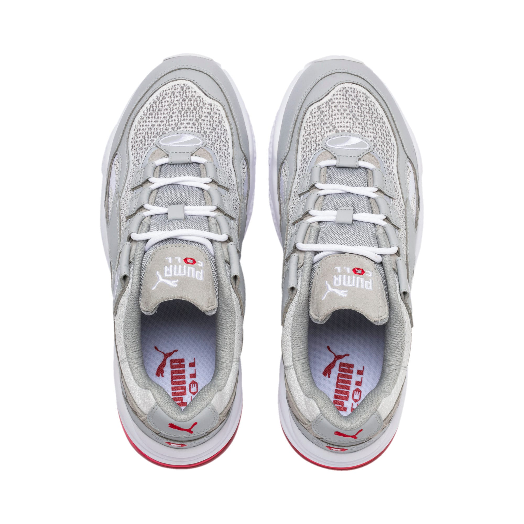 Thumbnail 4 of CELL Venom Alert Trainers, High Rise-Puma White, medium-IND