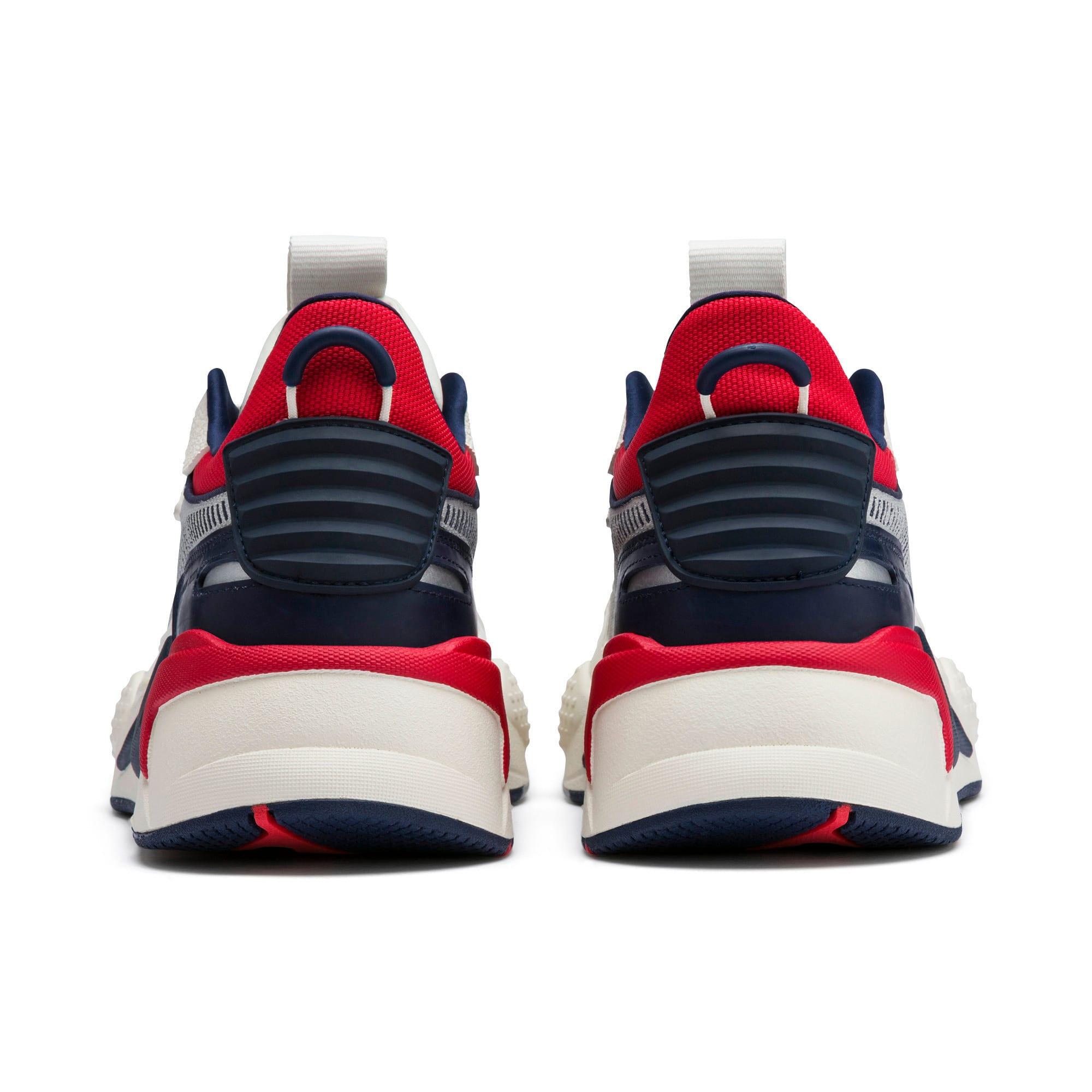 Thumbnail 4 of RS-X Hard Drive Sneaker, Whisper White-Peacoat, medium