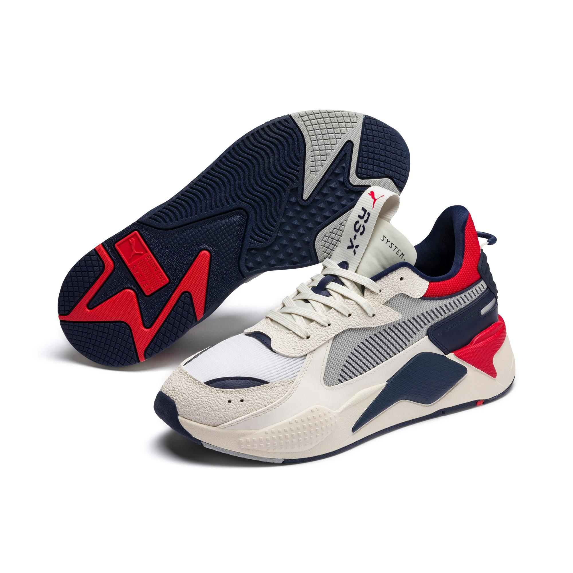 Thumbnail 3 of RS-X Hard Drive Sneaker, Whisper White-Peacoat, medium