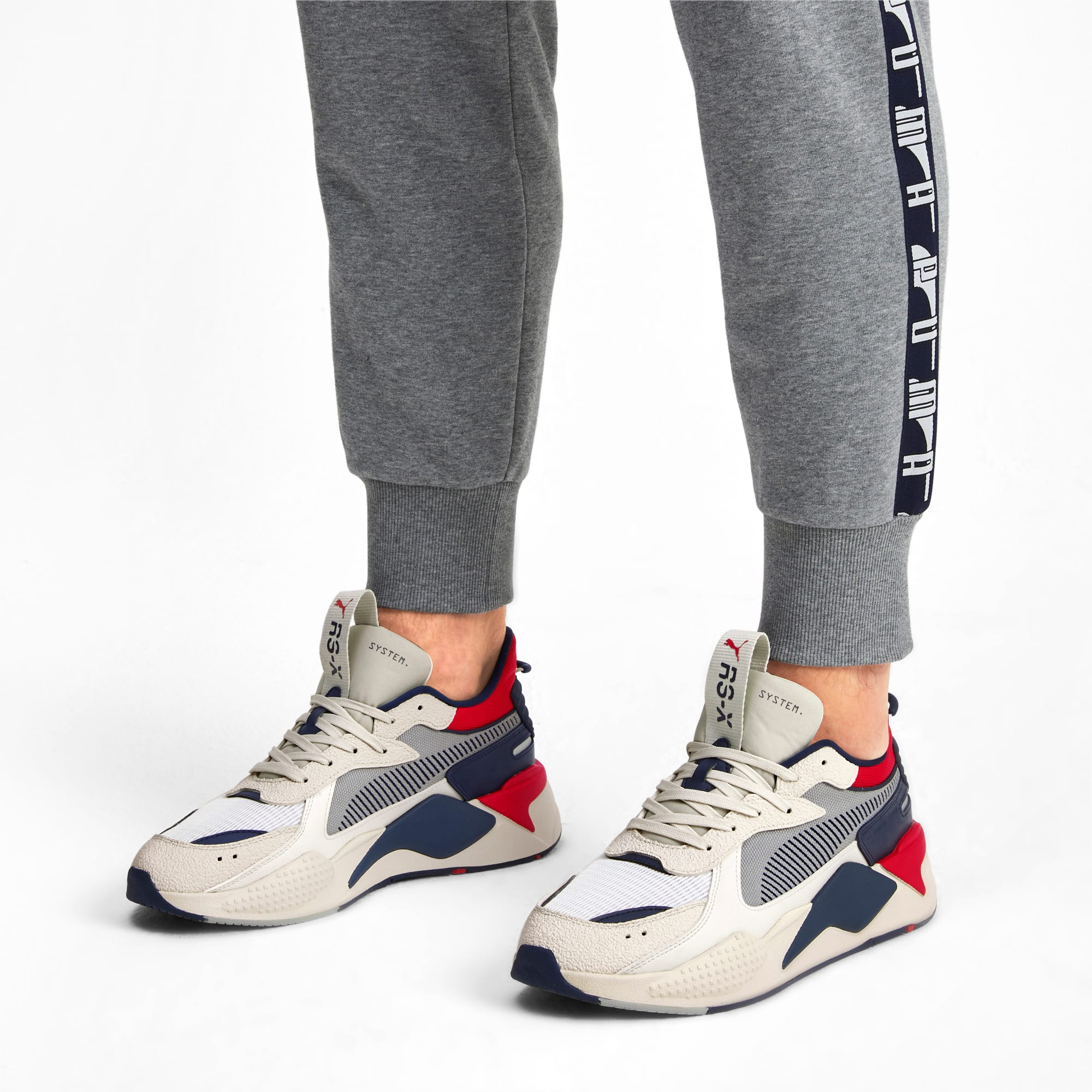 RS X Hard Drive Sneaker | Whisper White Peacoat | PUMA