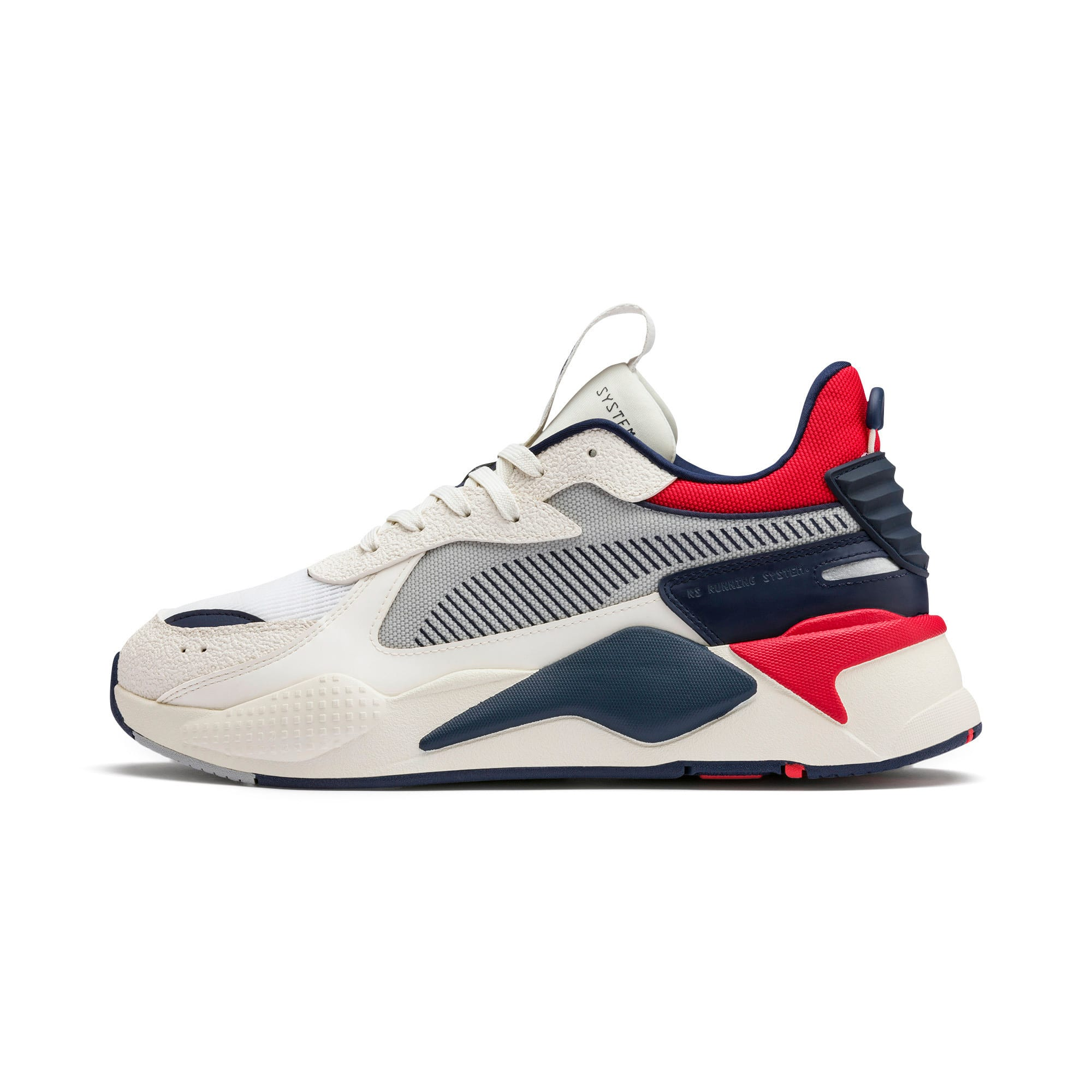 Thumbnail 1 of RS-X Hard Drive Sneaker, Whisper White-Peacoat, medium