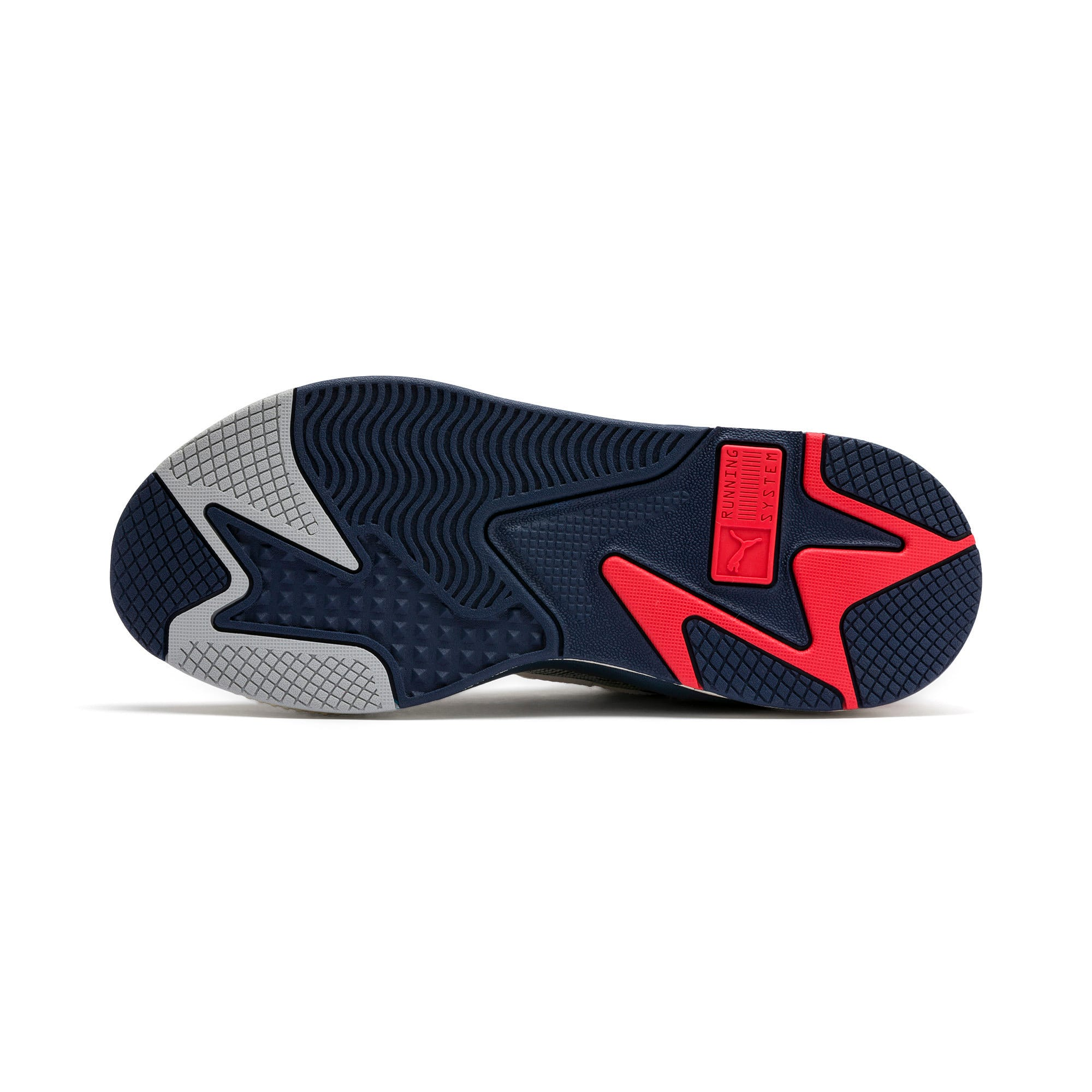 Thumbnail 5 of RS-X Hard Drive Sneaker, Whisper White-Peacoat, medium
