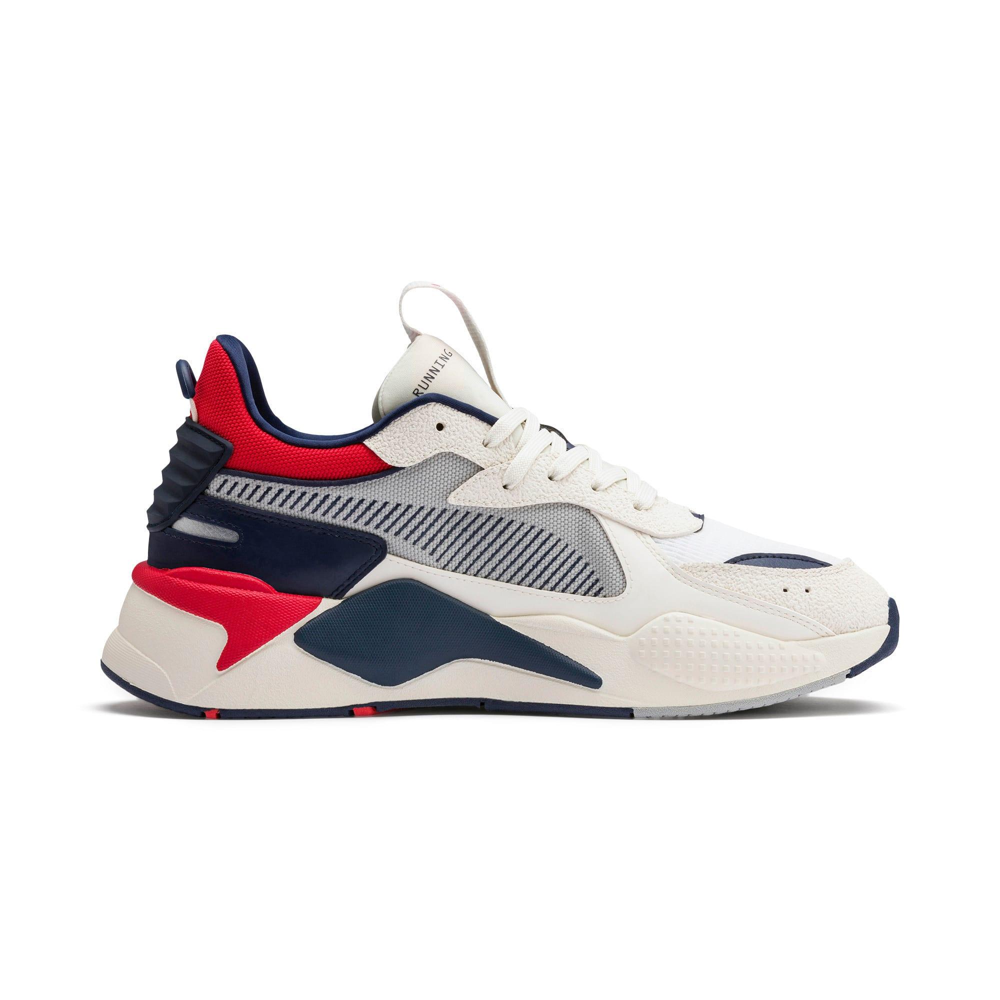 Thumbnail 6 of RS-X Hard Drive Sneaker, Whisper White-Peacoat, medium