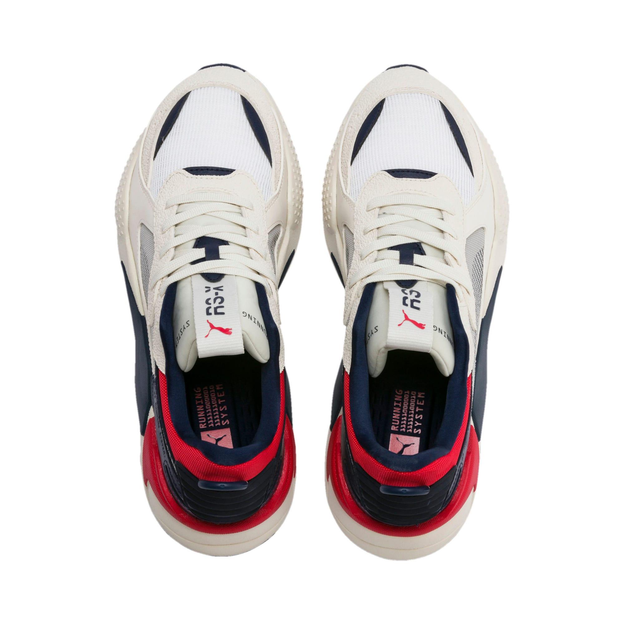 Thumbnail 7 of RS-X Hard Drive Sneaker, Whisper White-Peacoat, medium