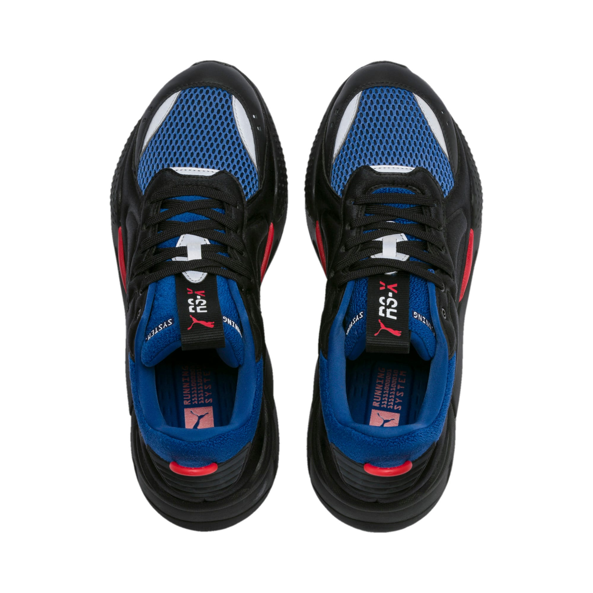 Thumbnail 8 van RS-X Softcase sportschoenen, Puma Black-Galaxy Blue, medium