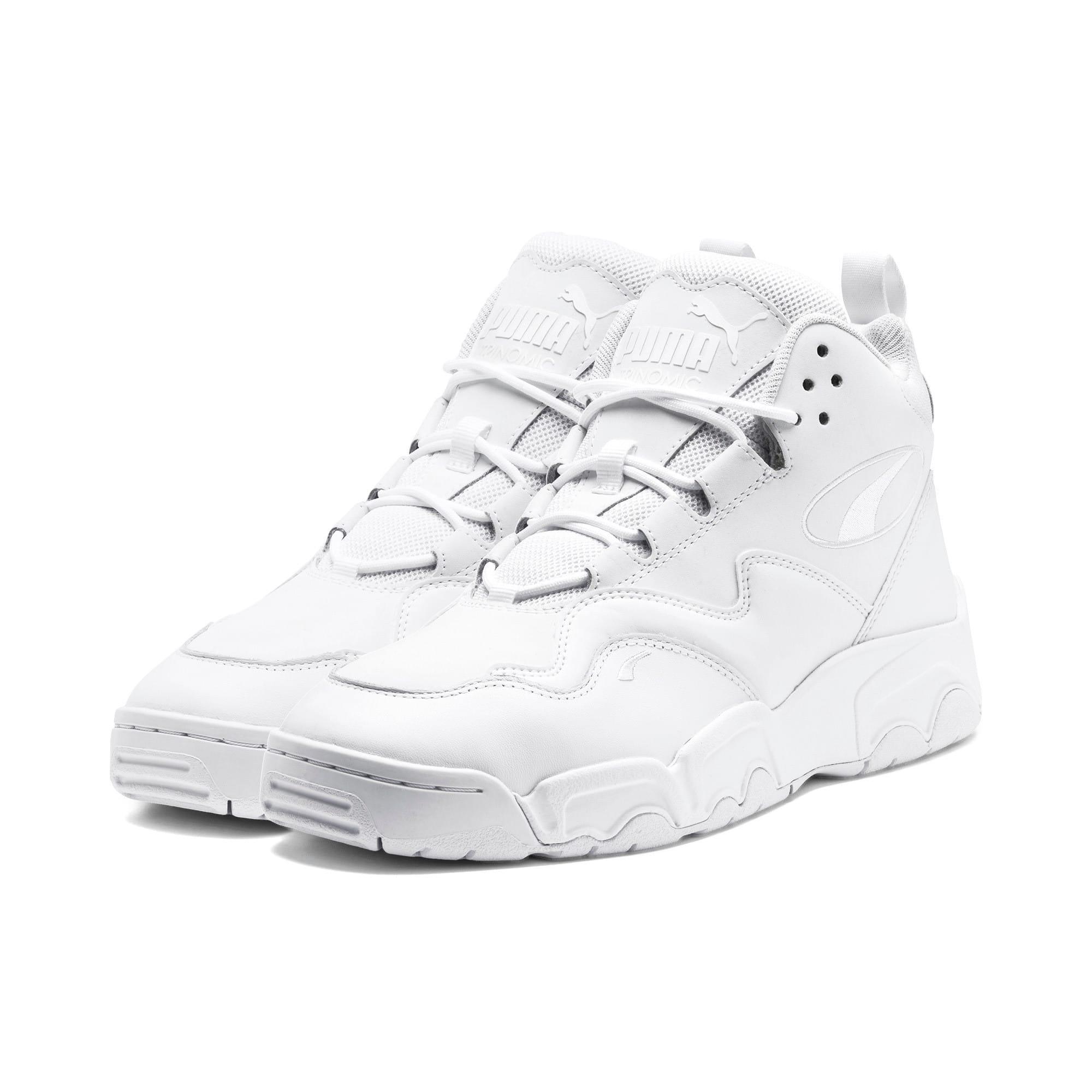 Thumbnail 2 of Source Mid Sneakers, Puma Black-Puma White, medium
