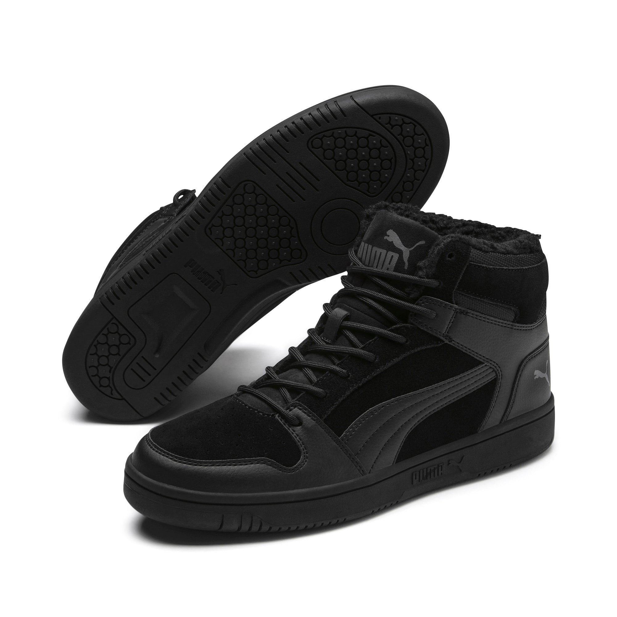 Thumbnail 3 of Rebound Lay Up SD Fur sportschoenen, Puma Black-CASTLEROCK, medium