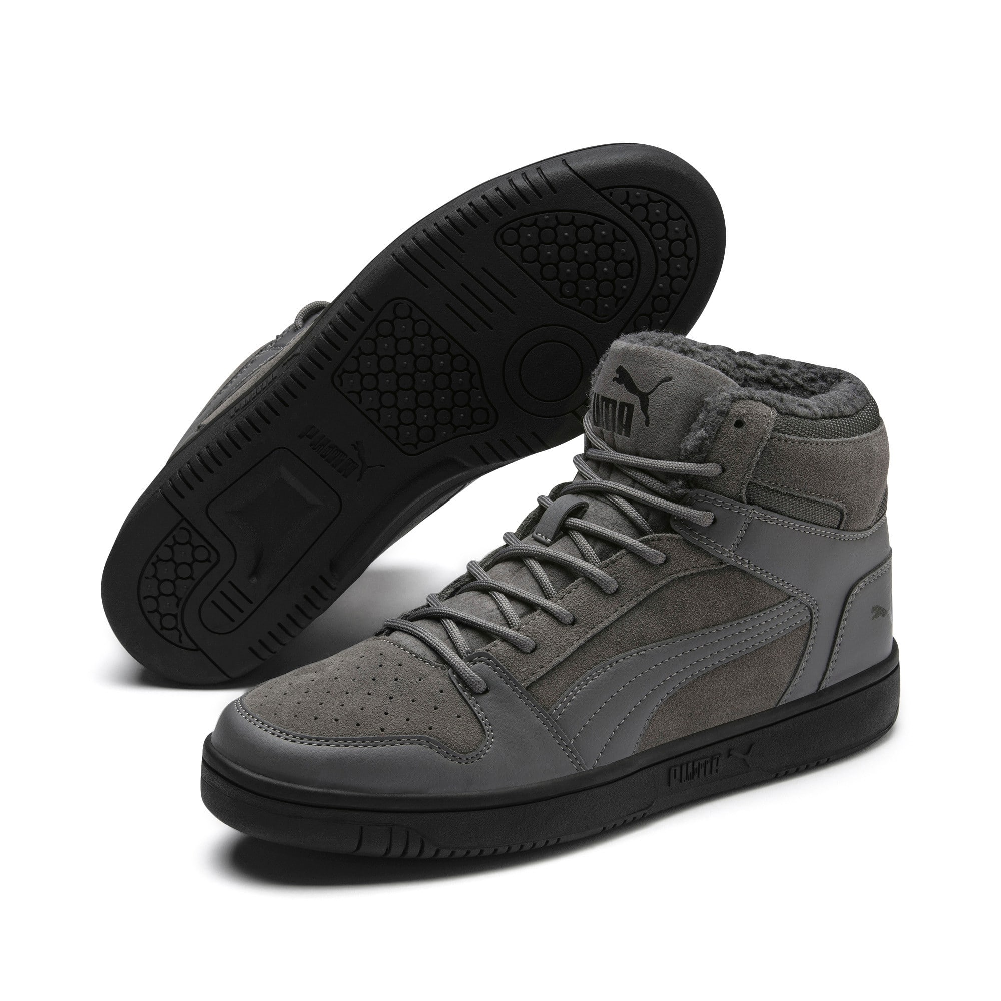 Thumbnail 3 van Rebound Lay Up SD Fur sportschoenen, CASTLEROCK-Puma Black, medium