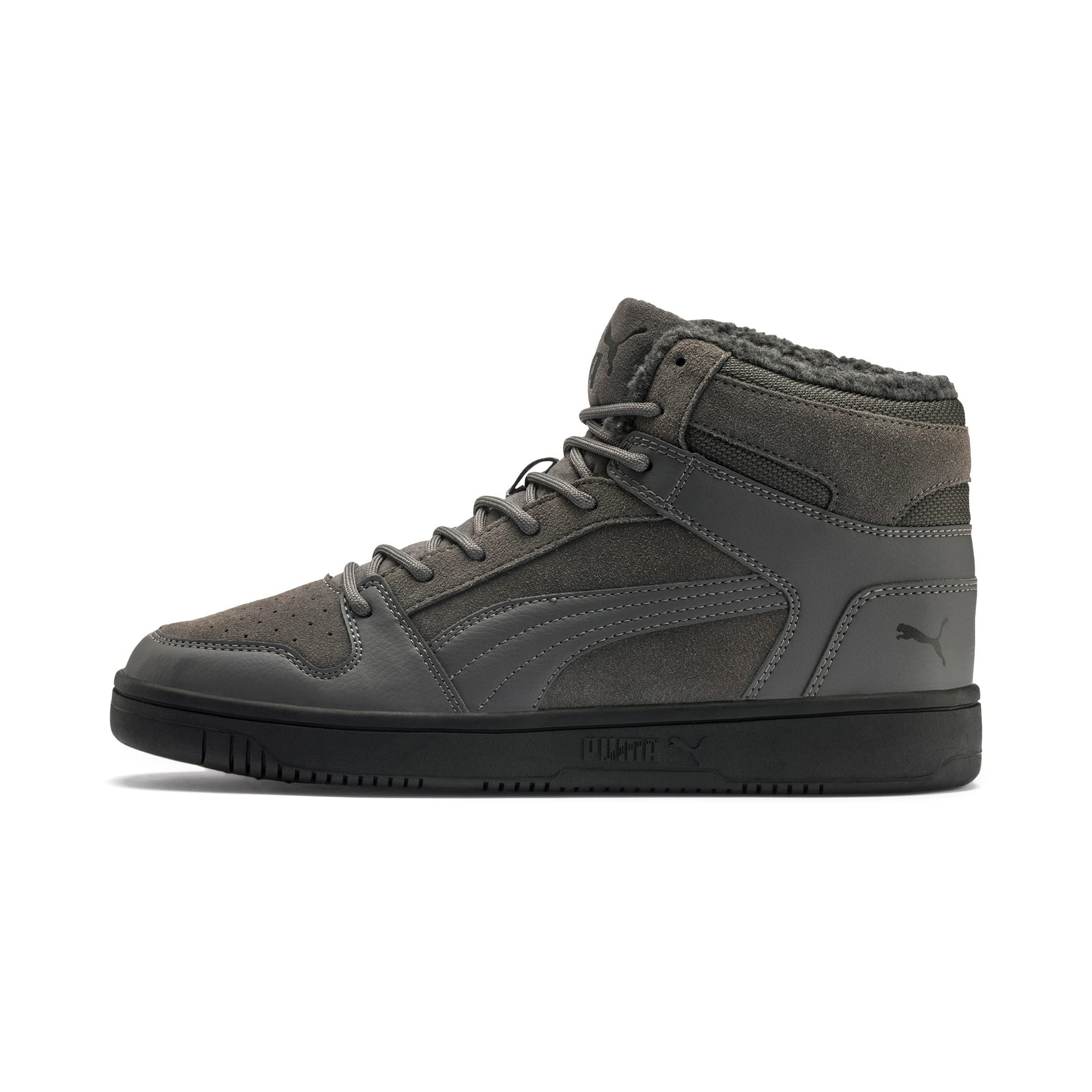 Thumbnail 1 van Rebound Lay Up SD Fur sportschoenen, CASTLEROCK-Puma Black, medium