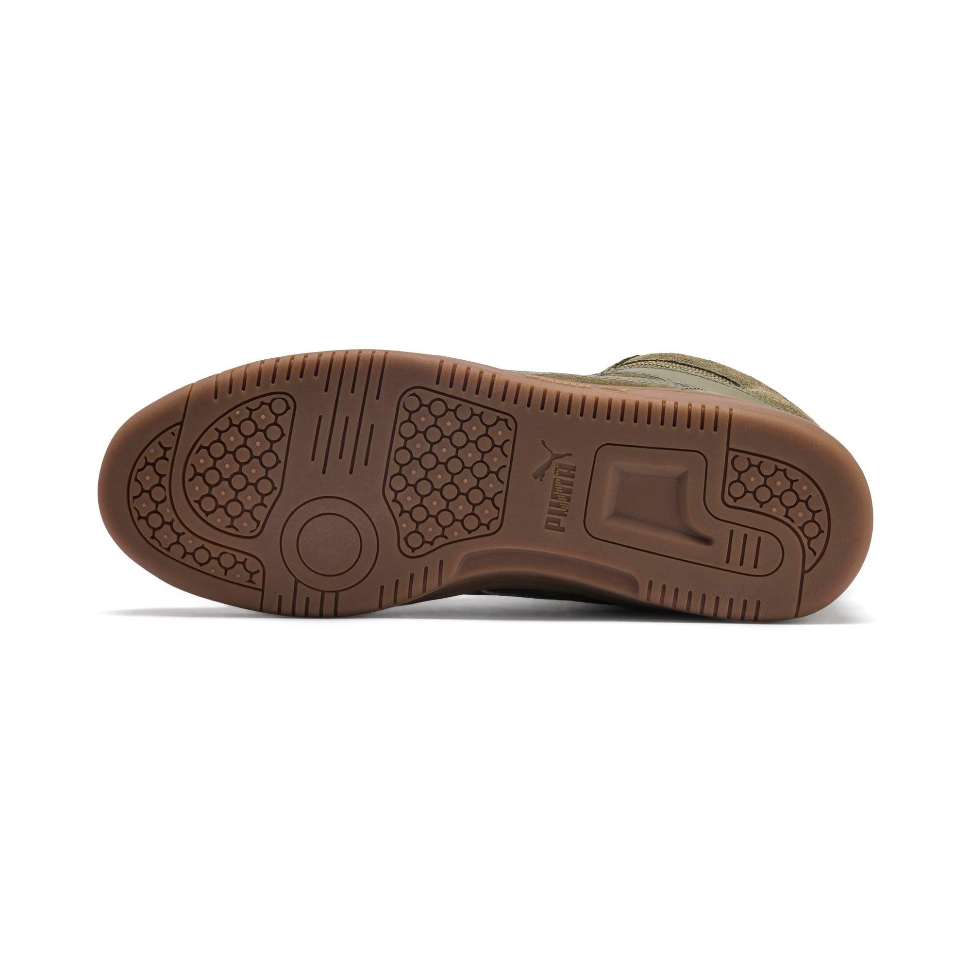 Thumbnail 5 of Rebound Lay Up SD Fur Sneaker, Burnt Olive-Puma Black-Gum, medium