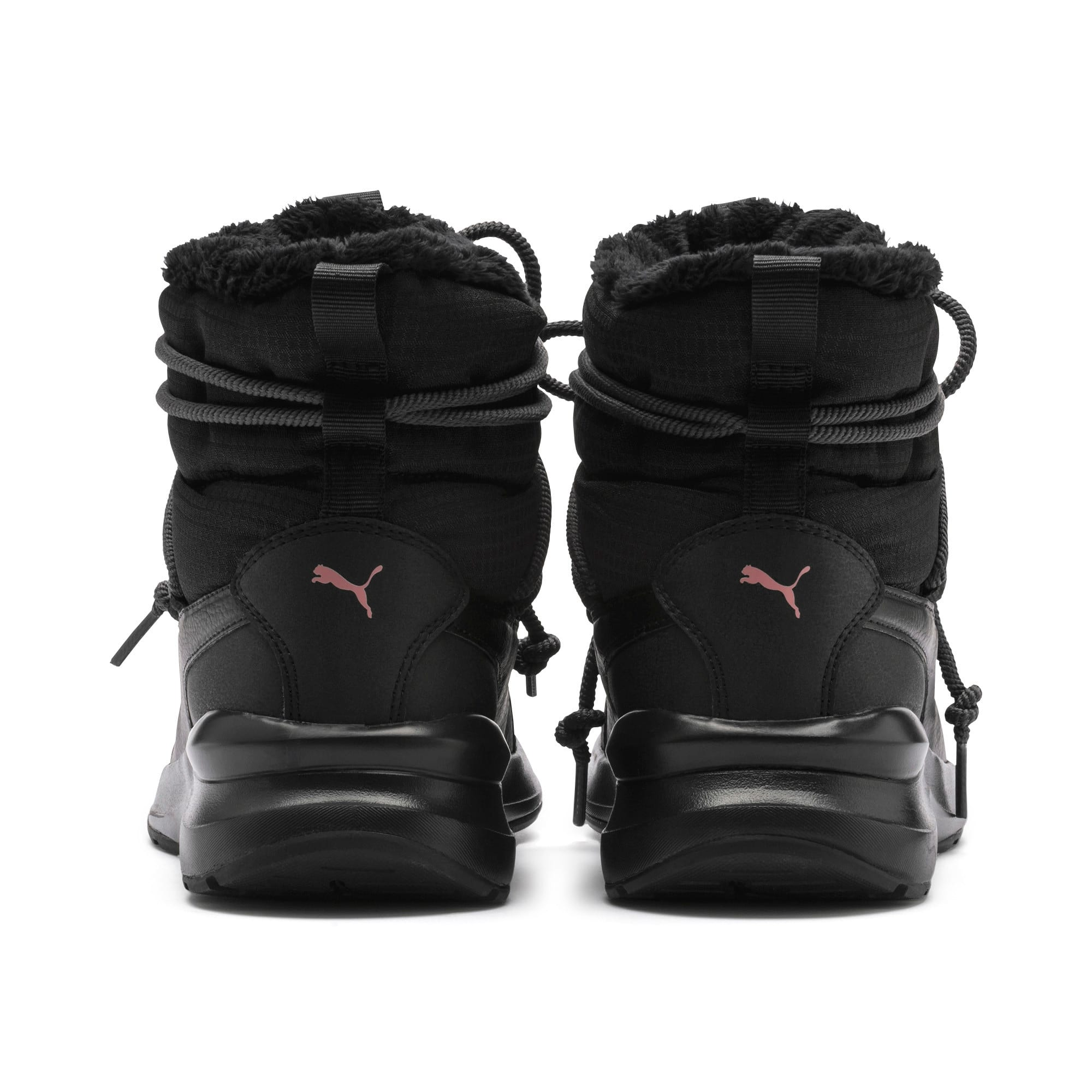 Thumbnail 4 van Adela snowboots voor dames, Puma Black-Bridal Rose, medium